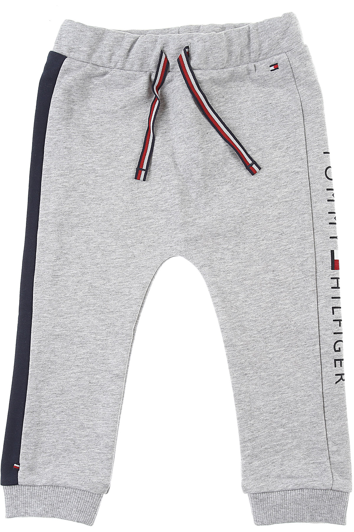 Tommy Hilfiger Baby Sweatpants for Boys On Sale, Grey, Cotton, 2019, 12 M 18 M 3M 3Y 6M 9 M