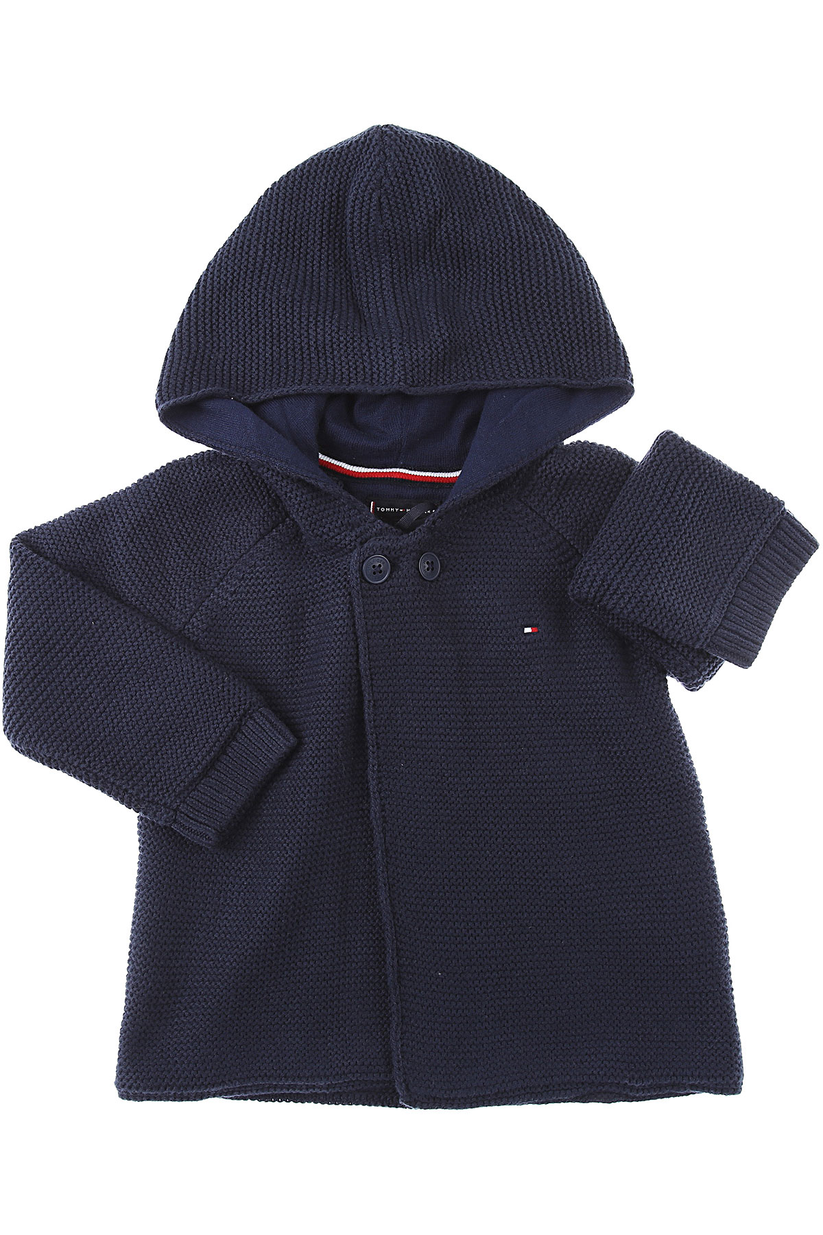 Tommy Hilfiger Baby Sweaters for Boys On Sale, navy, Cotton, 2019, 12 M 18M 2Y