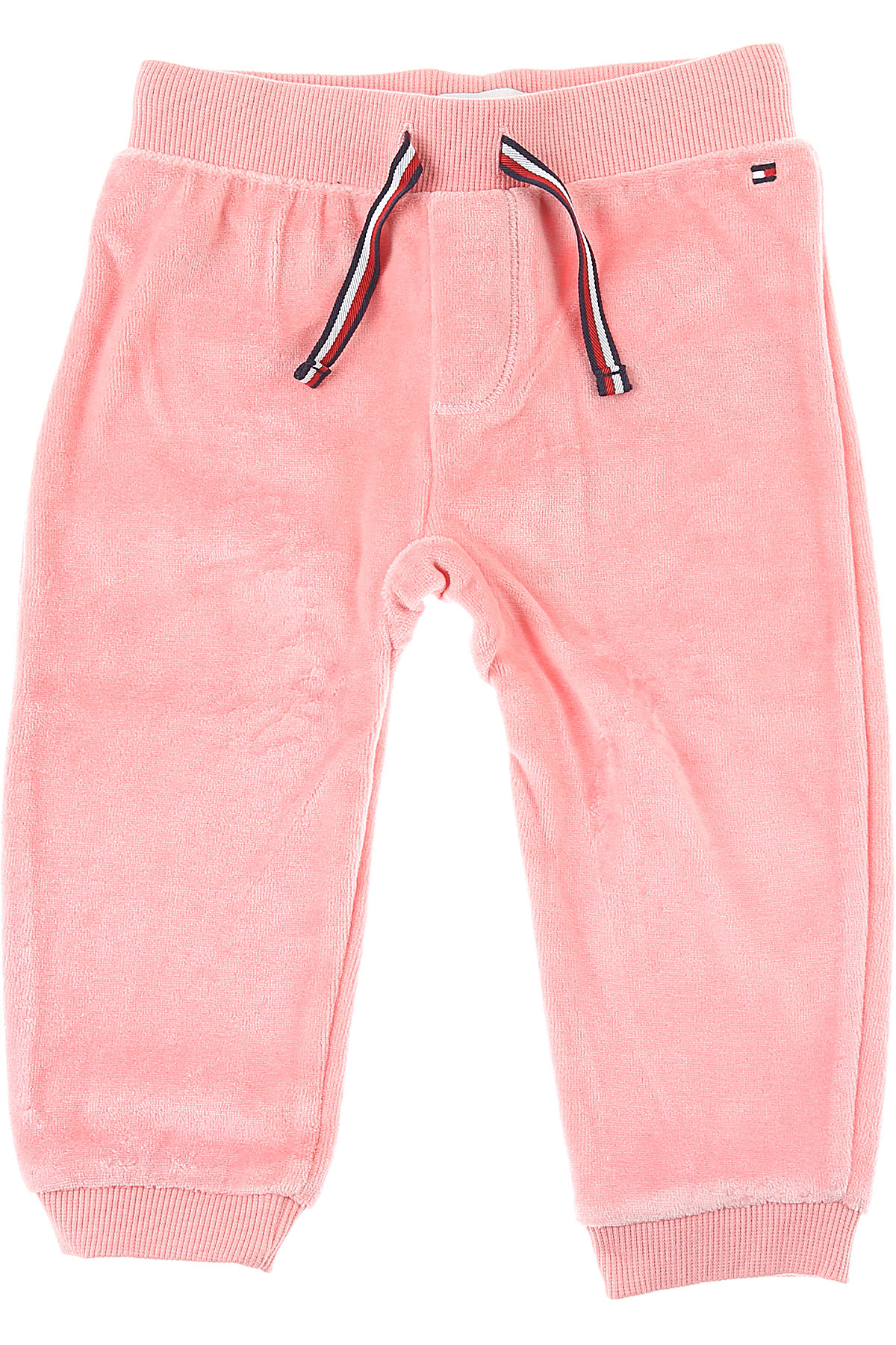 Tommy Hilfiger Baby Sweatpants for Girls On Sale, Pink, Cott, 2019, 2Y 6M 9M