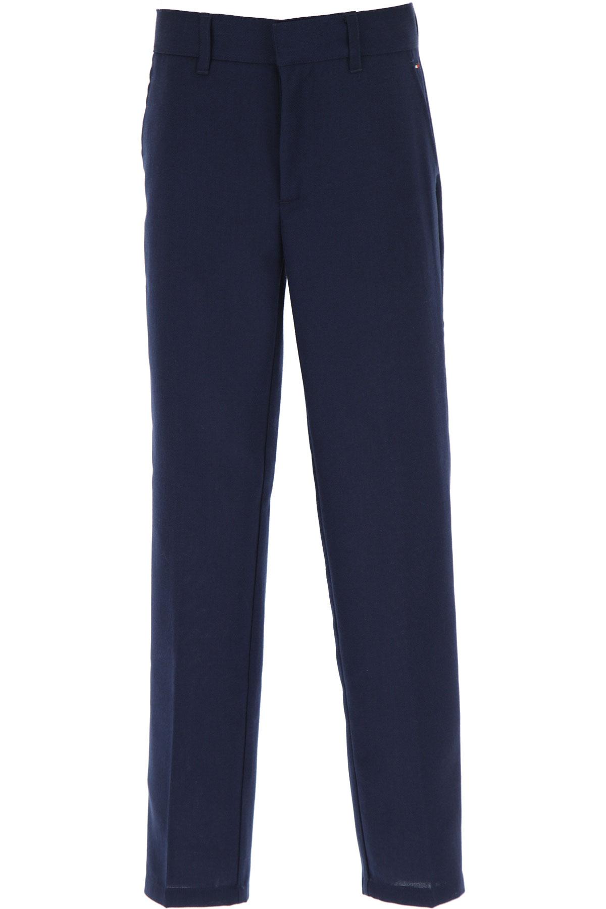 Tommy Hilfiger Kids Pants for Boys On Sale, Blue, polyester, 2019, 10Y 12Y 8Y