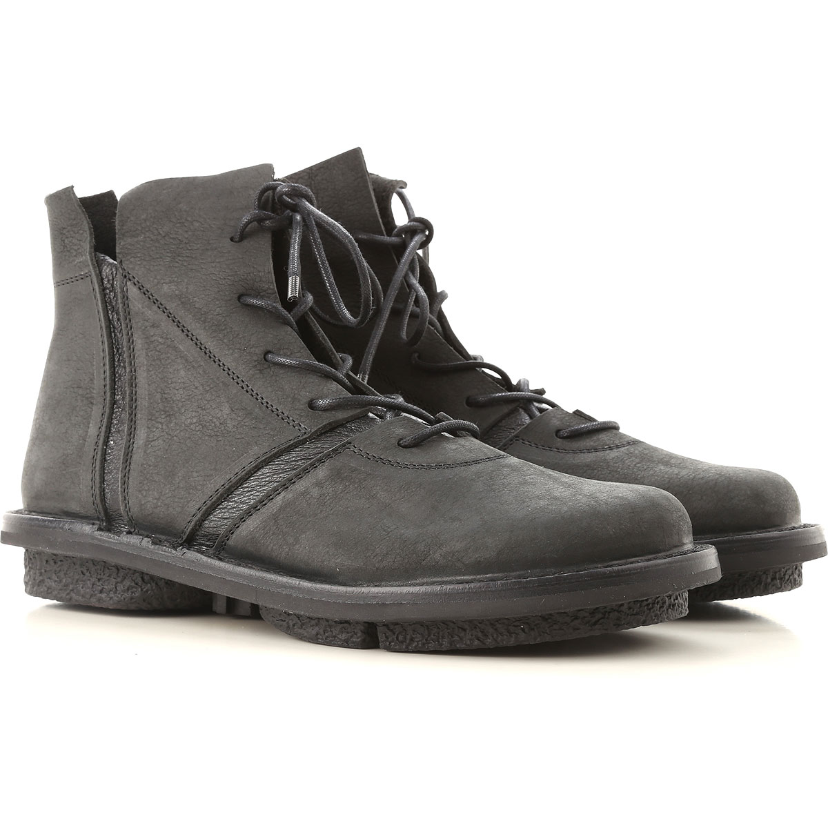 Image of Trippen Boots for Women, Booties, Black, Leather, 2017, 10 11 6 7 8 9