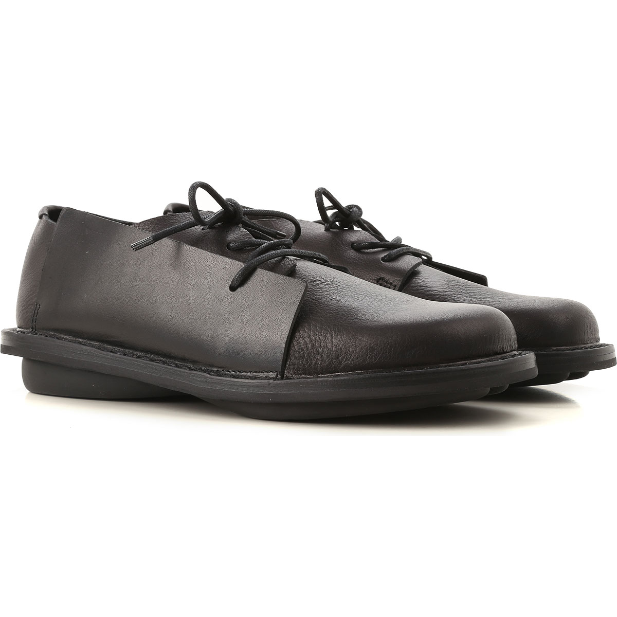 Image of Trippen Lace Up Shoes for Men Oxfords, Derbies and Brogues, Black, Leather, 2017, 10 11 7 8 9