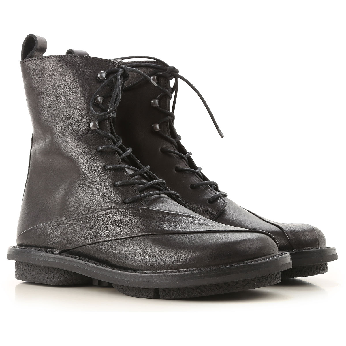 Image of Trippen Boots for Women, Booties, Black, Leather, 2017, 10 7 8 9