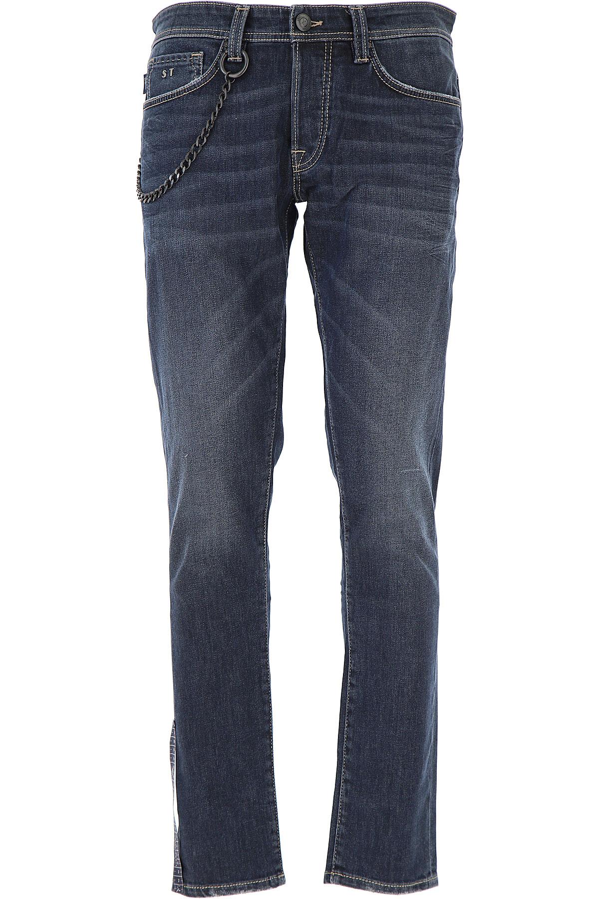 Image of Tramarossa Jeans, dark Denim, Cotton, 2017, 31 32 33 34 35 36 38