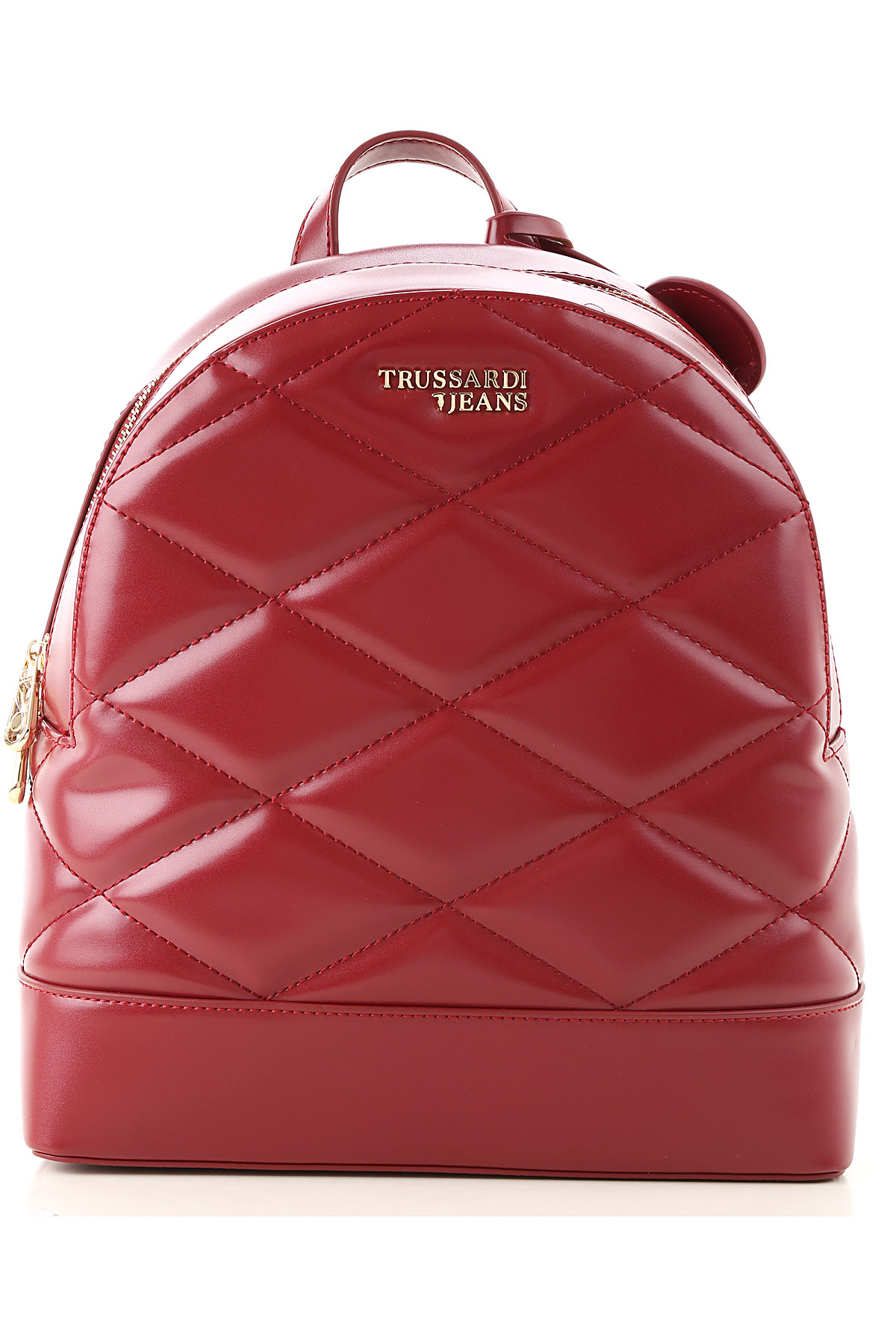 Trussardi Backpack for Women On Sale, Bordeaux, Eco Leather, 2019