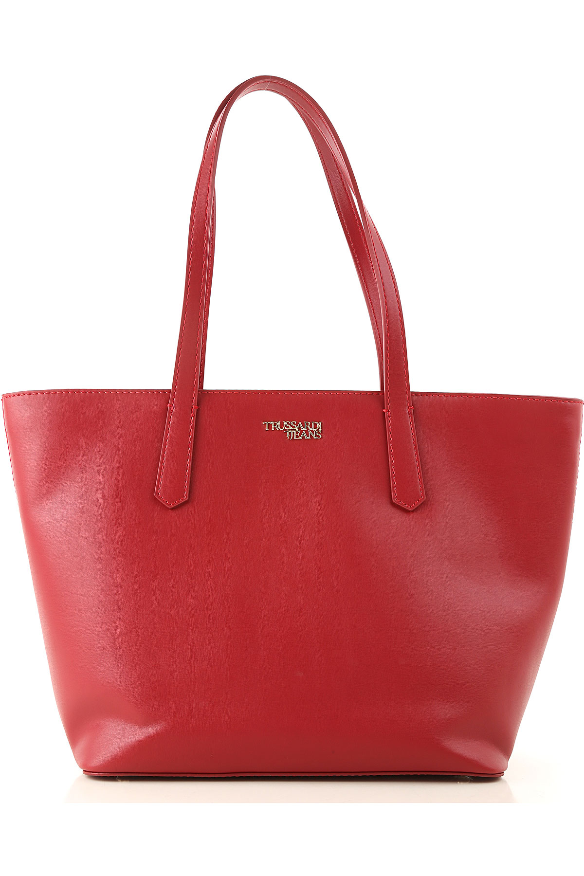 Trussardi Tote Bag On Sale, Garnet, Eco Leather, 2019