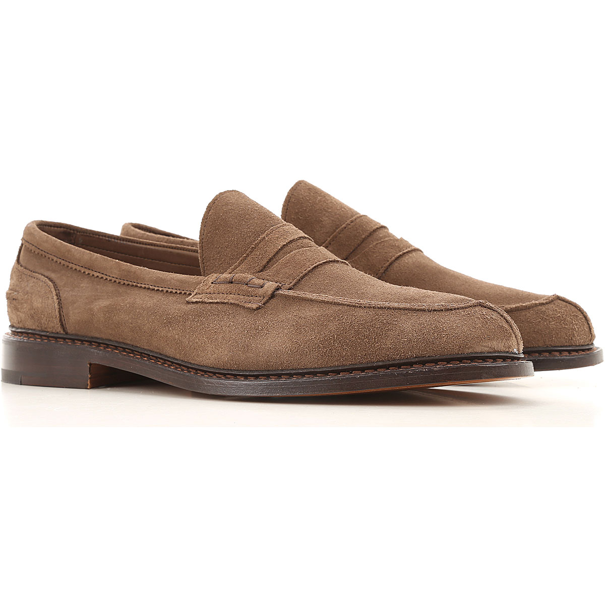Trickers Loafers for Men On Sale, Brown, suede, 2019, 10 10.5 8 8.5 9 9.5