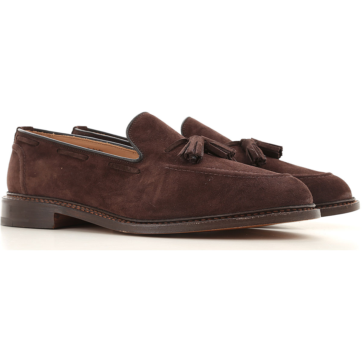 Trickers Loafers for Men On Sale, Coffee, suede, 2019, 10 10.5 11 8 8.5 9 9.5