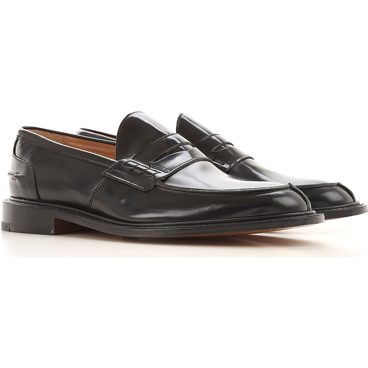 Trickers Loafers for Men On Sale, Black, Leather, 2019, 10.5 11 8 8.5 9 9.5