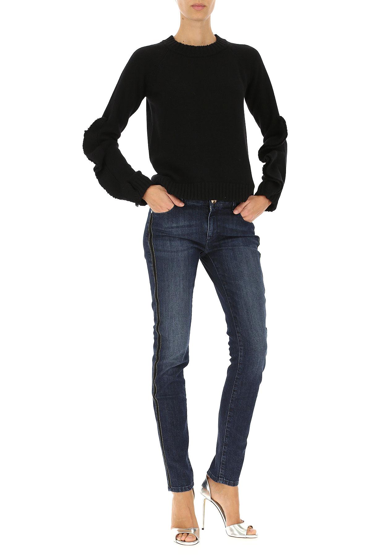 Image of Trussardi Jeans, Dark Blue, Cotton, 2017, 26 27 28 30 31 32 33 34