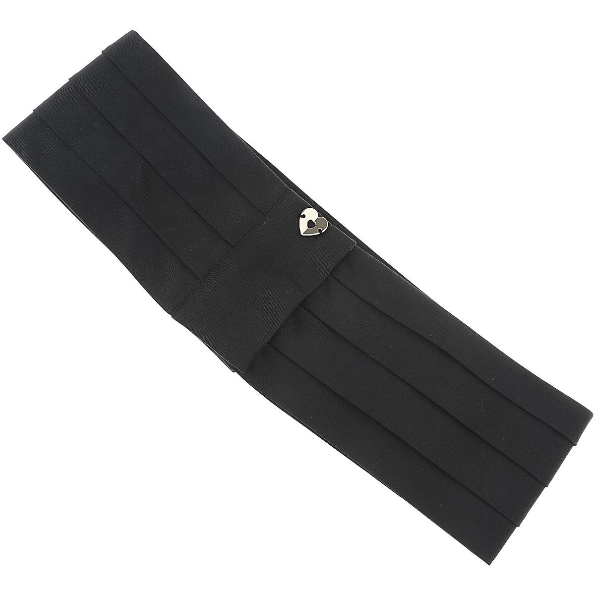 Image of Twin Set by Simona Barbieri Belt for Women On Sale, Black, polyester, 2017, Eu - 42 Eu - 44