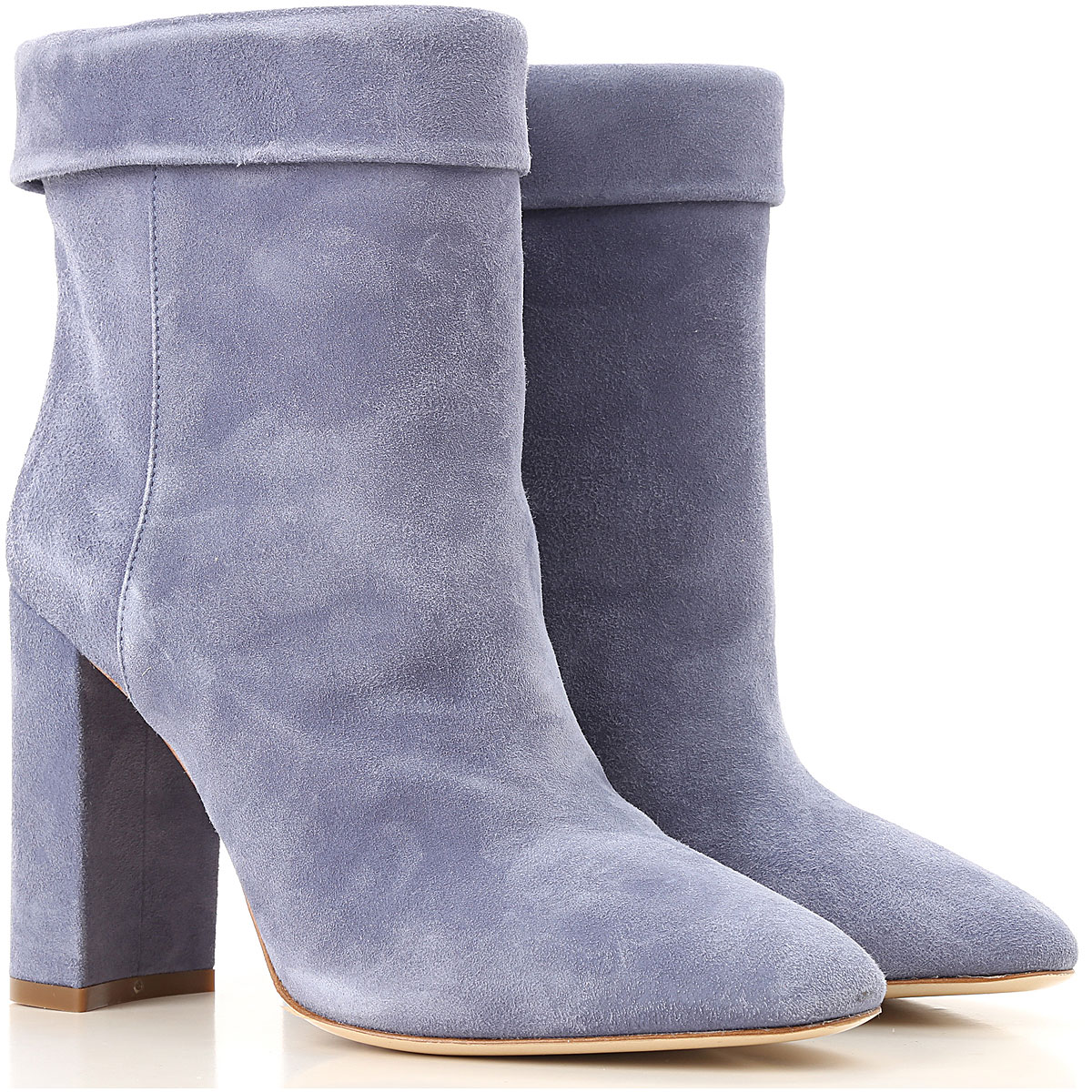 Image of Twin Set by Simona Barbieri Boots for Women, Booties, Azure, suede, 2017, 10 11 5 6 8 8.5