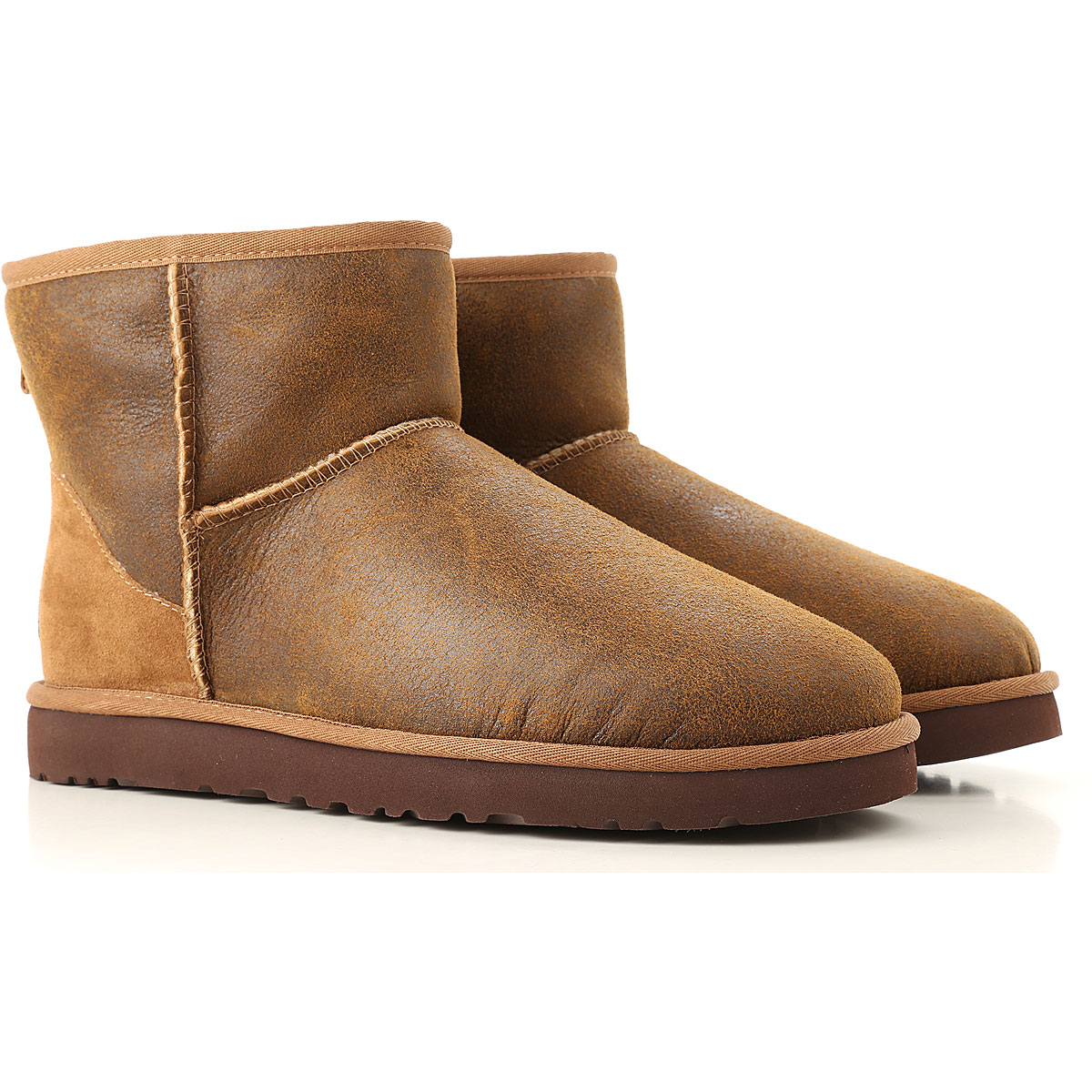 Image of UGG Boots for Men, Booties, Leather Brown, Leather, 2017, 10 11 12 7 8 9