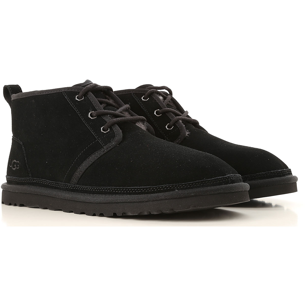 Image of UGG Boots for Men, Booties, Black, suede, 2017, 10 11 12 7 8 9