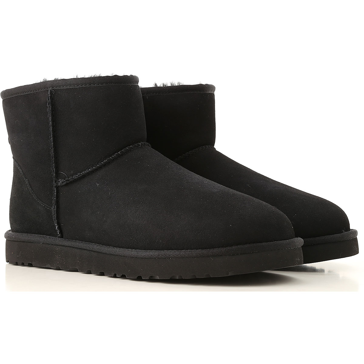 Image of UGG Boots for Men, Booties, Black, suede, 2017, 10 9
