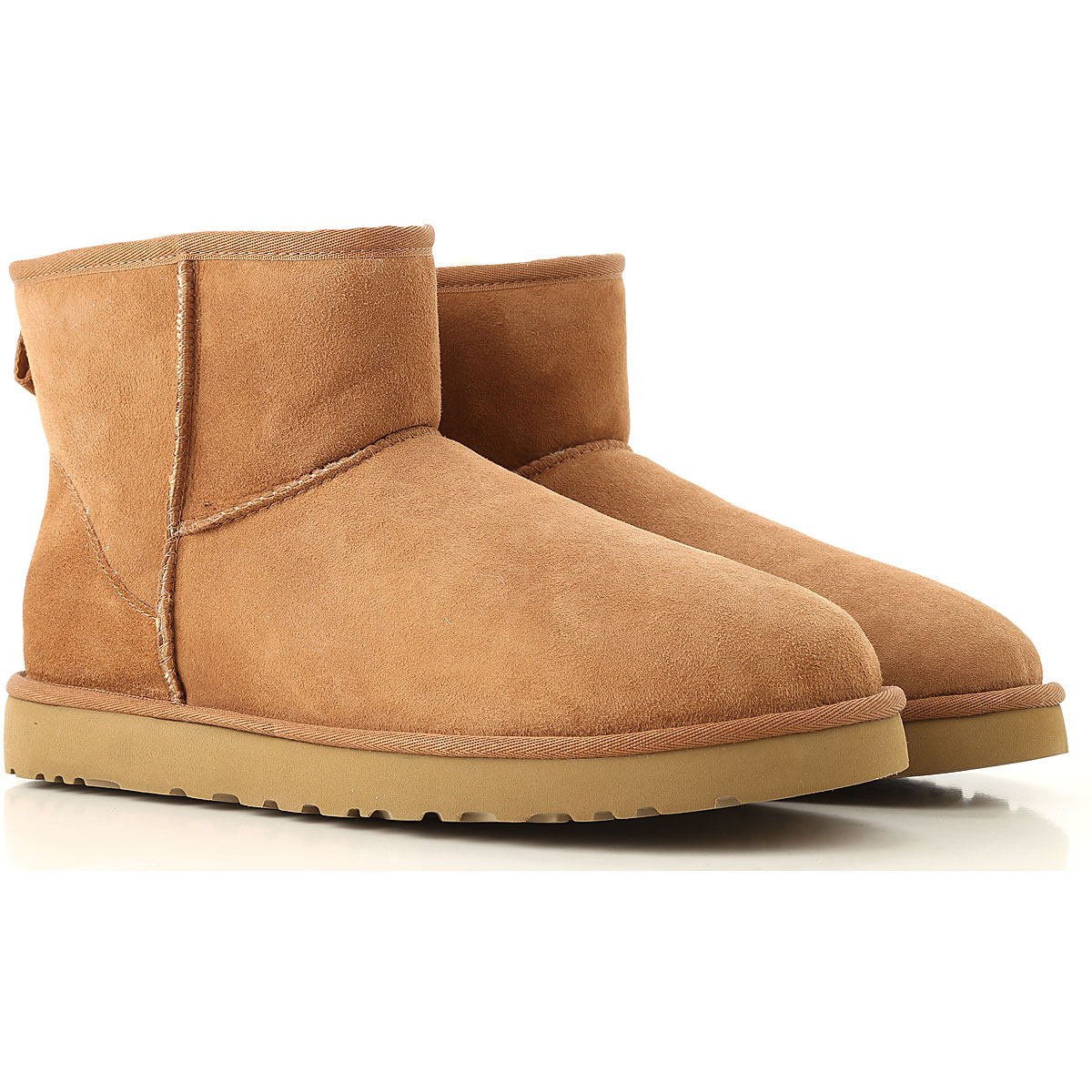 Image of UGG Boots for Men, Booties, Chestnut, suede, 2017, 10 11 7 8 9