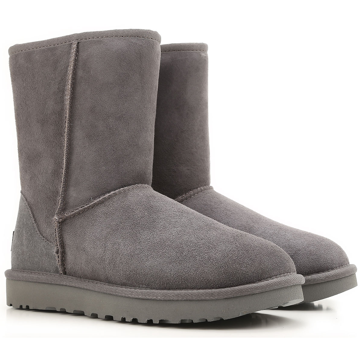 UGG Boots for Women, Booties On Sale, Grey, Suede leather, 2019, USA 5 UK 3 5 EU 36 JAPAN 220 USA 6 UK 4 5 EU 37 JAPAN 230 USA 8 UK 6 5 EU 39
