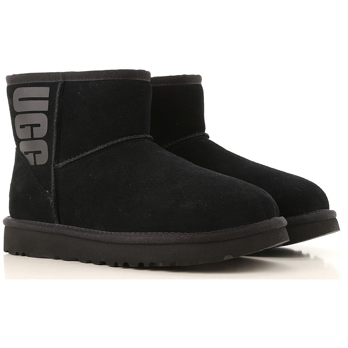UGG Boots for Women, Booties On Sale, black, Recycled Polyester, 2019, USA 5 UK 3 5 EU 36 JAPAN 220 USA 6 UK 4 5 EU 37 JAPAN 230 USA 7 UK 5 5