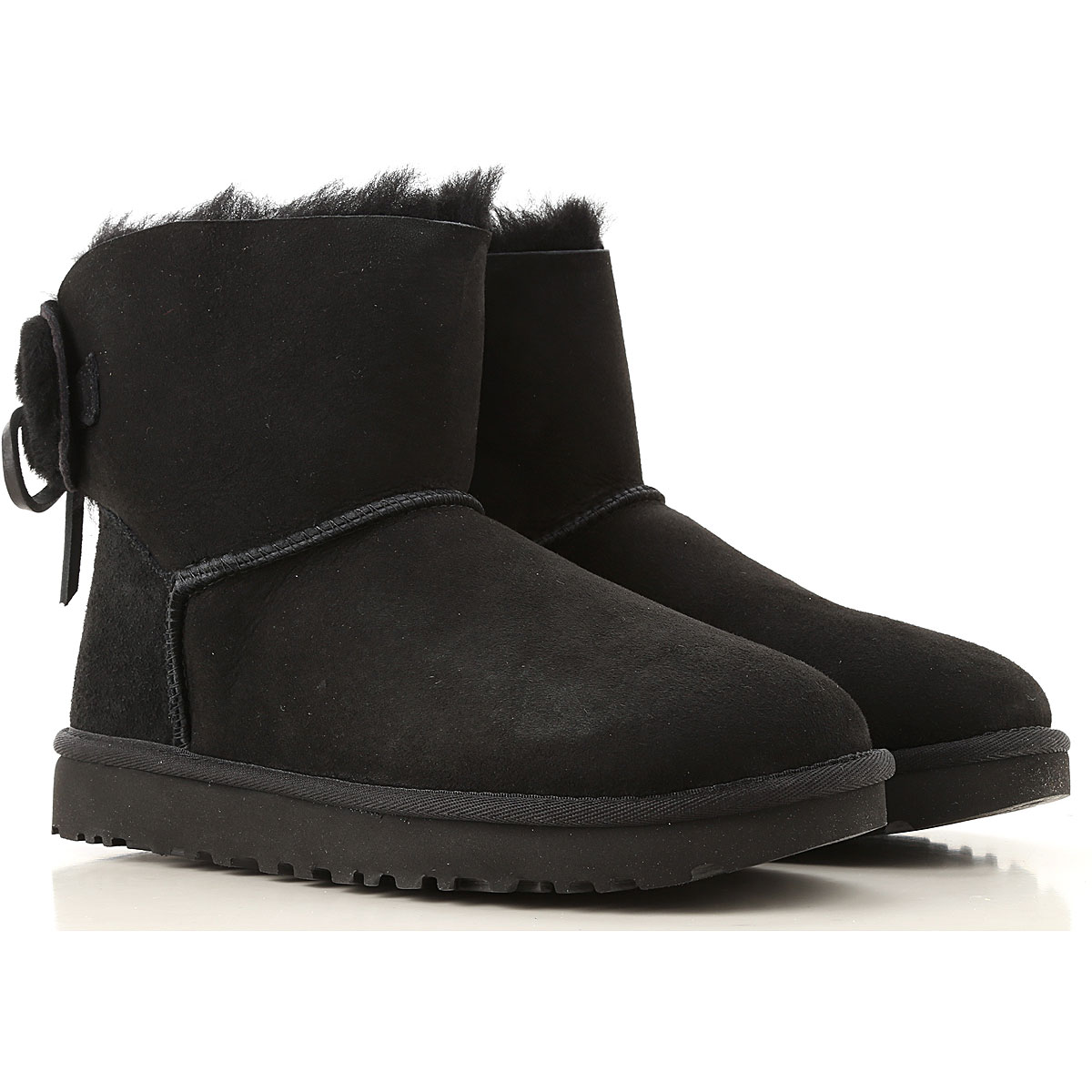 UGG Boots for Women, Booties On Sale, Black, Wool, 2019, USA 5 UK 3 5 EU 36 JAPAN 220 USA 6 UK 4 5 EU 37 JAPAN 230 USA 7 UK 5 5 EU 38 JAPAN