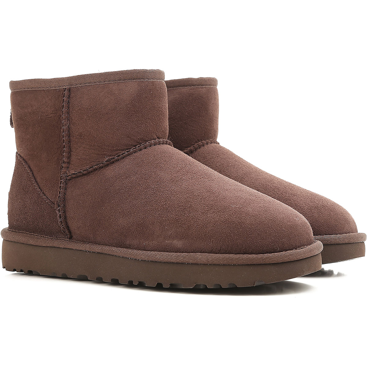 UGG Boots for Women, Booties On Sale, Choccolate, suede, 2019, USA 5 UK 3 5 EU 36 JAPAN 220 USA 6 UK 4 5 EU 37 JAPAN 230 USA 7 UK 5 5 EU 38