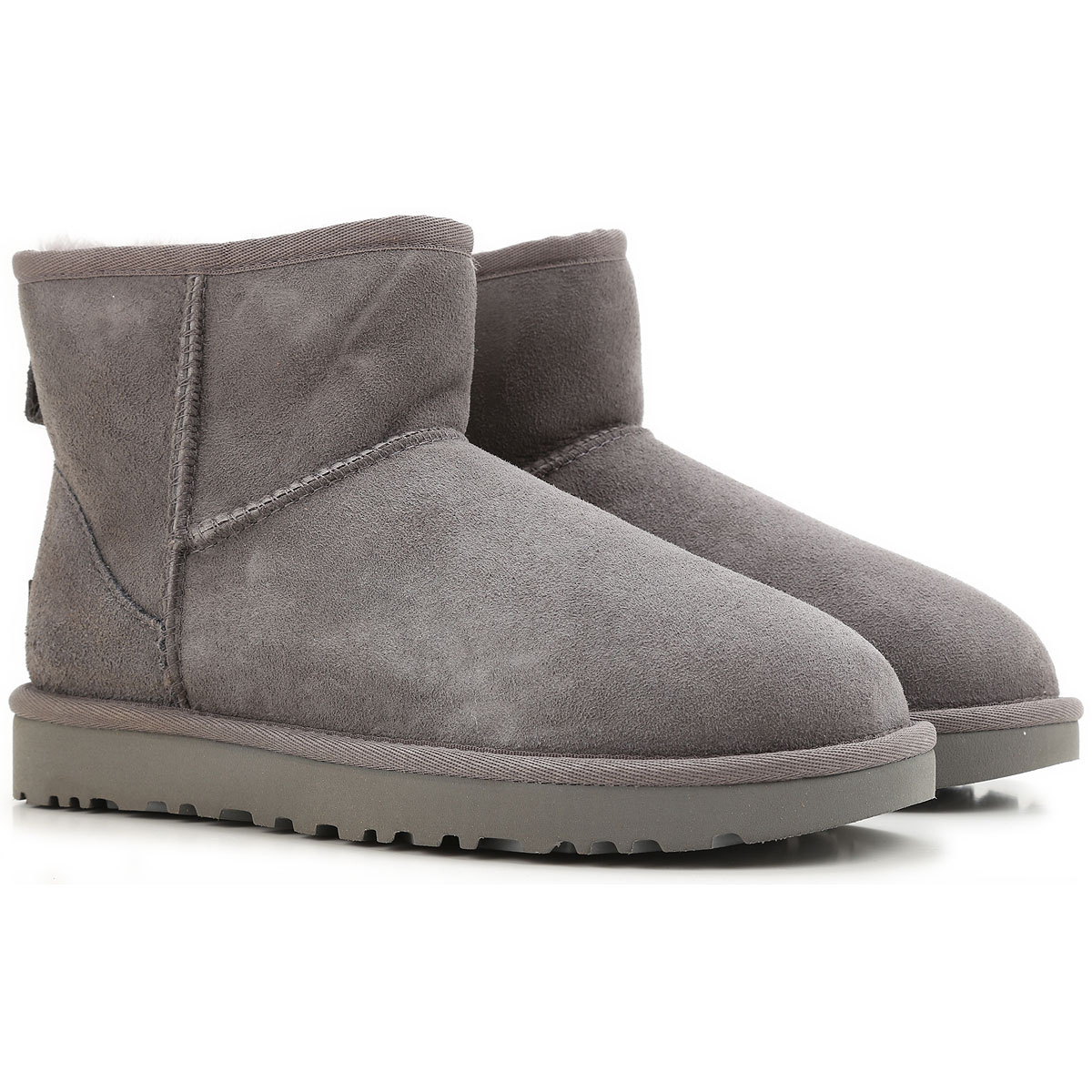 UGG Boots for Women, Booties On Sale in Outlet, Medium Grey, Suede leather, 2019, USA 5 UK 3 5 EU 36 JAPAN 220 USA 6 UK 4 5 EU 37 JAPAN 230 USA
