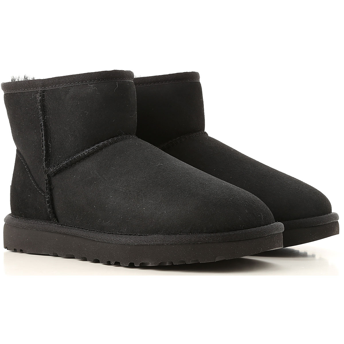 UGG Boots for Women, Booties On Sale, Black, Suede leather, 2019, USA 5 UK 3 5 EU 36 JAPAN 220 USA 6 UK 4 5 EU 37 JAPAN 230 USA 8 UK 6 5 EU 39