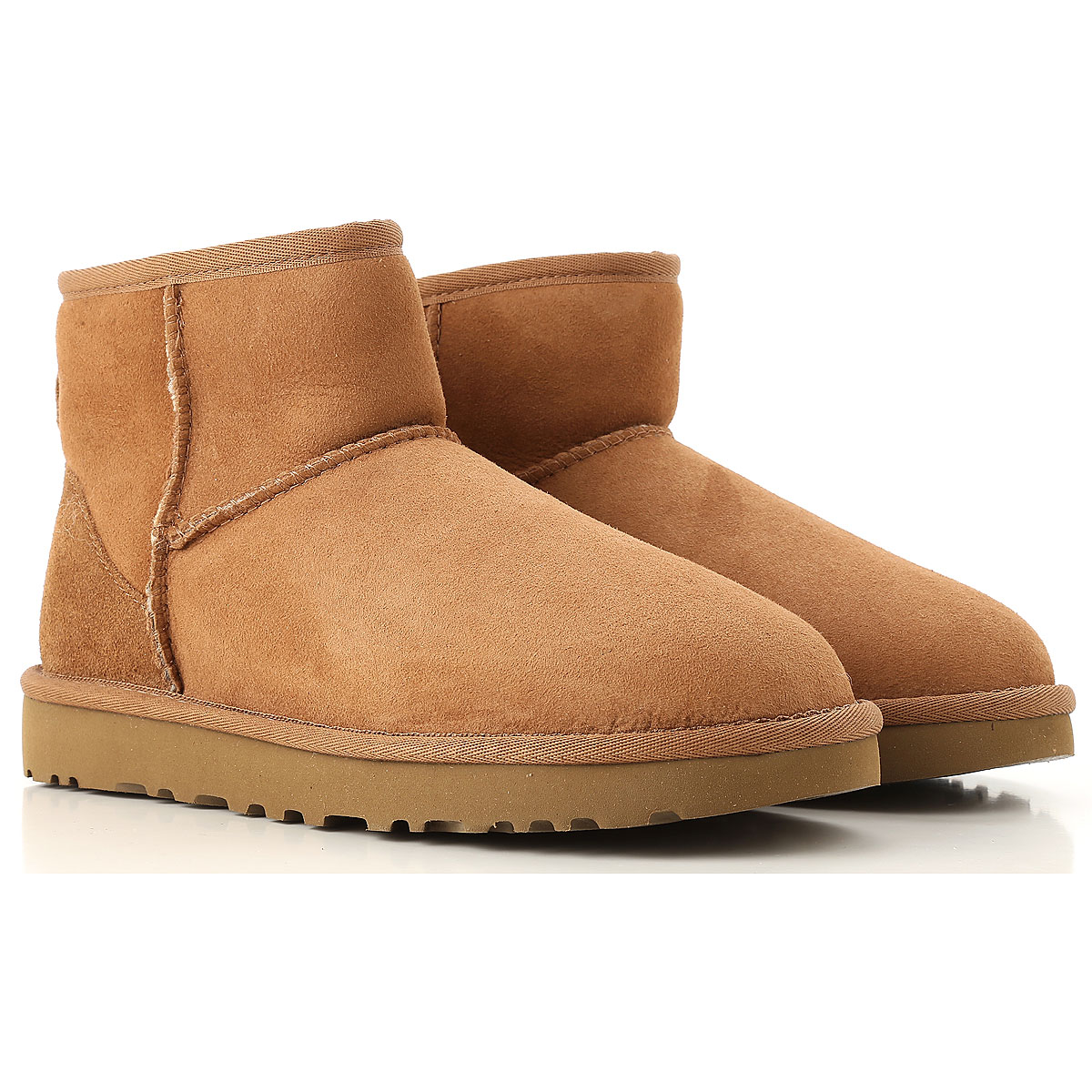 UGG Boots for Women, Booties On Sale, Chestnut, suede, 2019, USA 5 UK 3 5 EU 36 JAPAN 220 USA 6 UK 4 5 EU 37 JAPAN 230 USA 7 UK 5 5 EU 38 JA