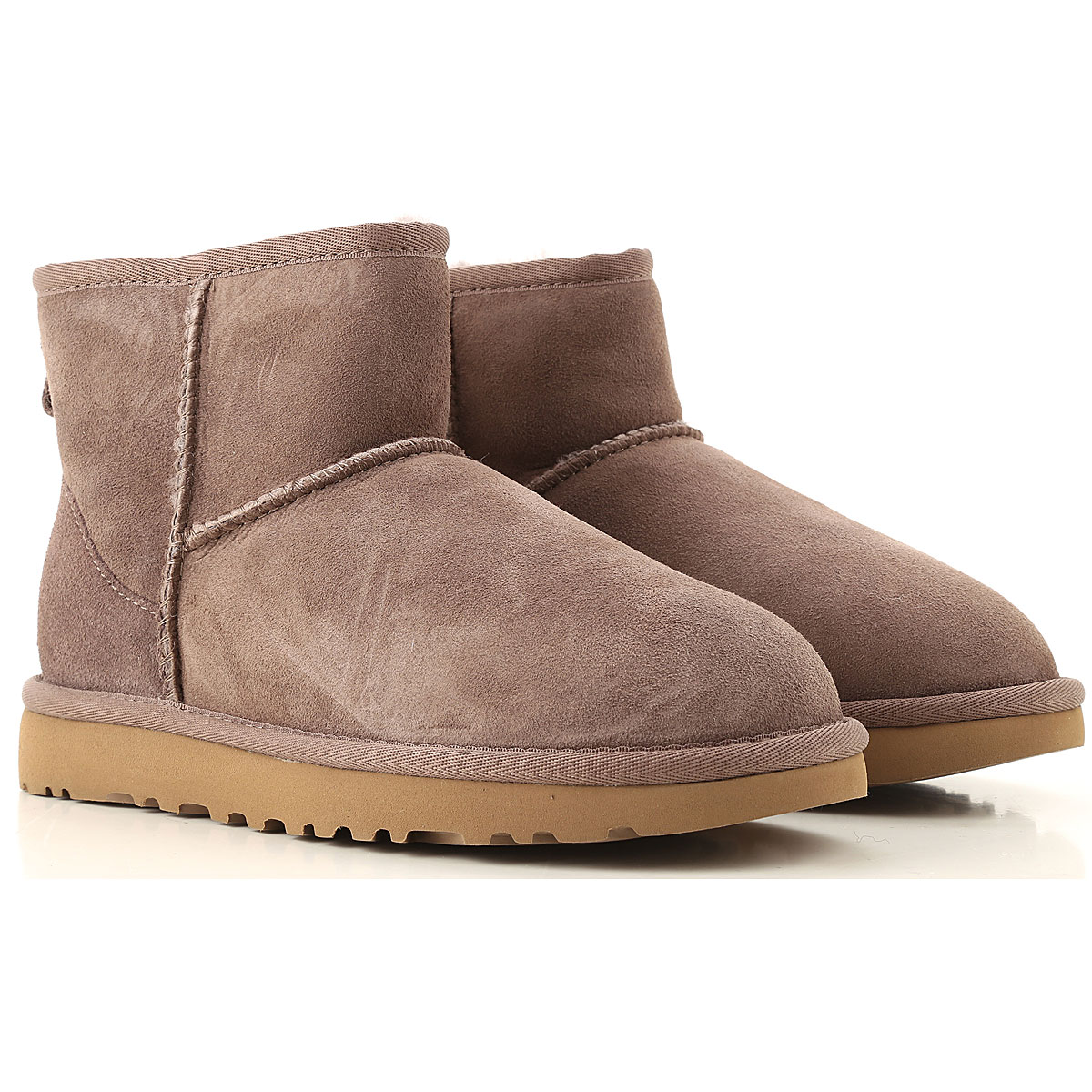 UGG Boots for Women, Booties On Sale, Mole, Suede leather, 2019, USA 5 UK 3 5 EU 36 JAPAN 220 USA 6 UK 4 5 EU 37 JAPAN 230 USA 7 UK 5 5 EU 38