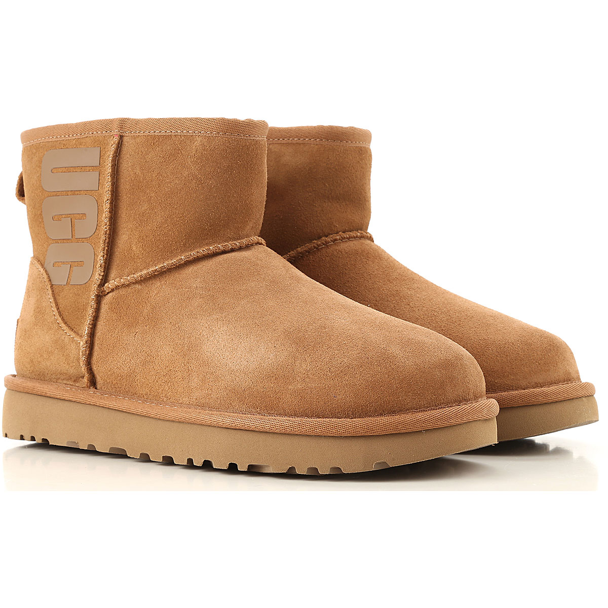 UGG Boots for Women, Booties On Sale, Brown, Wool, 2019, USA 5 UK 3 5 EU 36 JAPAN 220 USA 7 UK 5 5 EU 38 JAPAN 240 USA 8 UK 6 5 EU 39 JAPAN