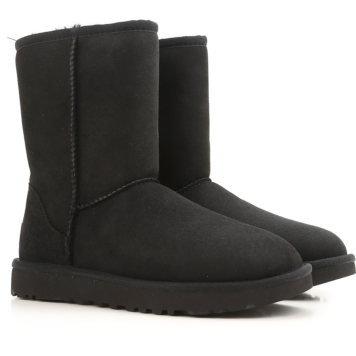 UGG Boots for Women, Booties On Sale, Black, suede, 2019, USA 6 UK 4 5 EU 37 JAPAN 230 USA 8 UK 6 5 EU 39 JAPAN 250 USA 9 UK 7 5 EU 40 JAPAN