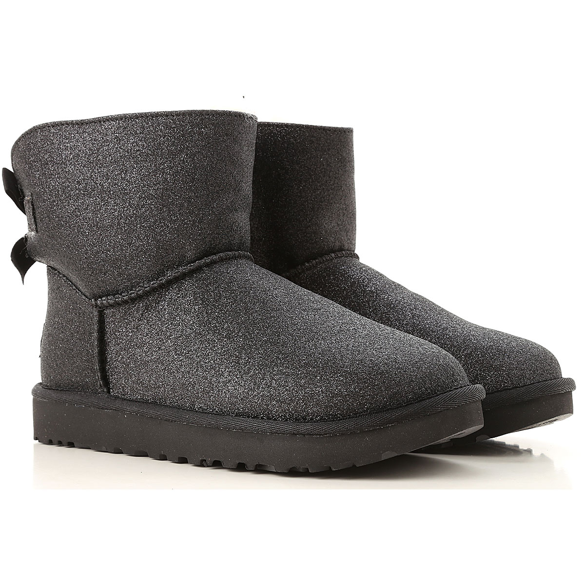 Image of UGG Boots for Women, Booties, Black, Sparkle, 2017, USA 5 UK 3 5 EU 36 JAPAN 220 USA 6 UK 4 5 EU 37 JAPAN 230 USA 7 UK 5 5 EU 38 JAPAN 240 USA 8 UK 6 5 EU 39 JAPAN 250 USA 9 UK 7 5 EU 40 JAPAN 260 USA 10 UK 8 5 EU 41 JAPAN 270