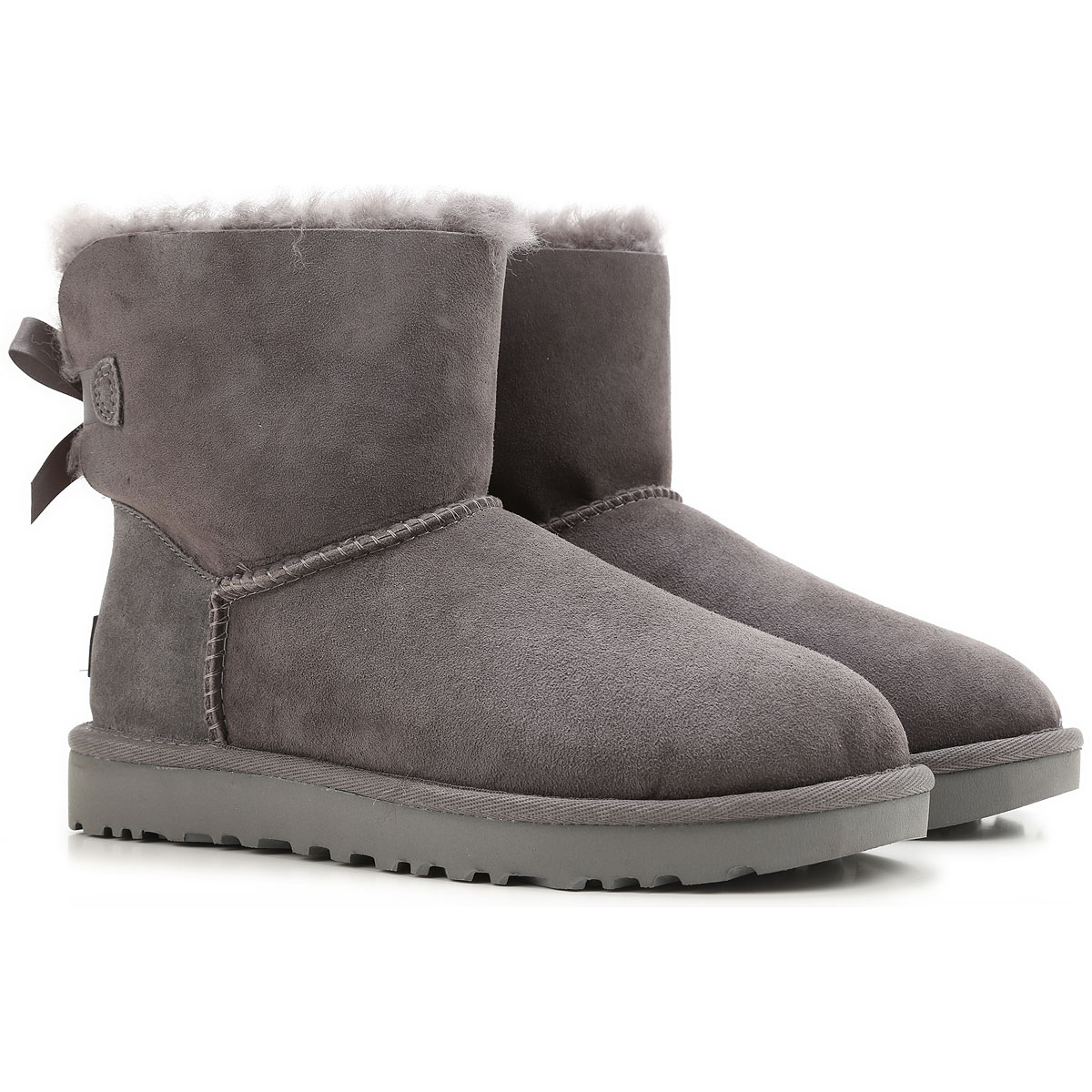 UGG Boots for Women, Booties On Sale, Grey, Suede leather, 2019, USA 5 UK 3 5 EU 36 JAPAN 220 USA 6 UK 4 5 EU 37 JAPAN 230 USA 7 UK 5 5 EU 38