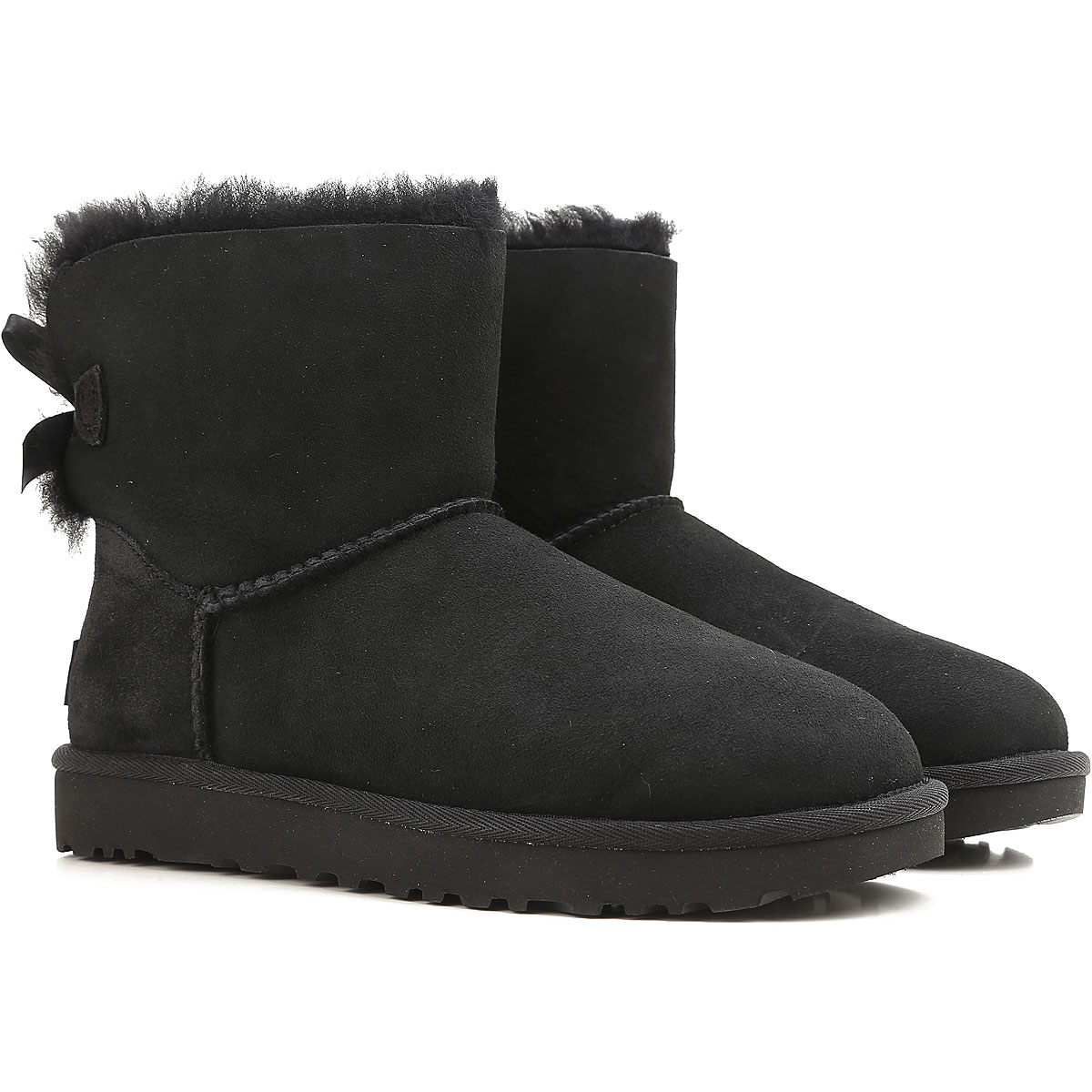 UGG Boots for Women, Booties On Sale, Black, suede, 2019, USA 5 UK 3 5 EU 36 JAPAN 220 USA 6 UK 4 5 EU 37 JAPAN 230 USA 7 UK 5 5 EU 38 JAPAN