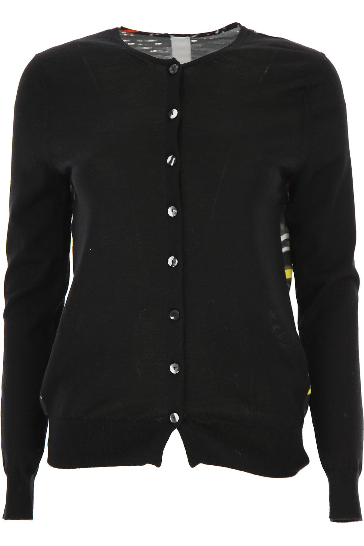 Ultrachic Sweater for Women Jumper On Sale, Black, Virgin wool, 2019, 6 8