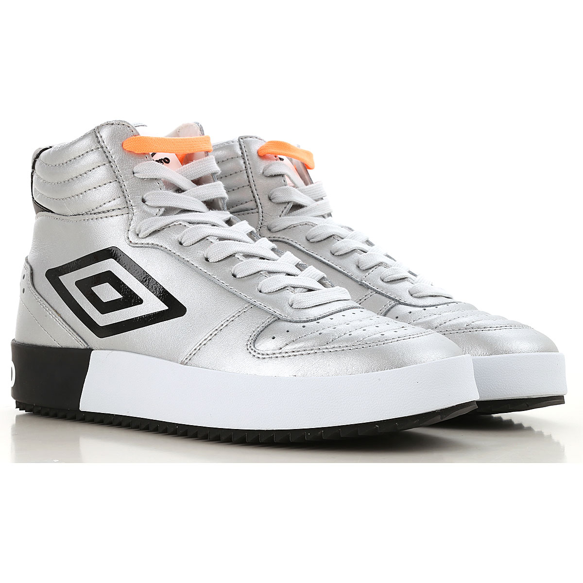 Image of Umbro Sneakers for Men, Silver, Leather, 2017, 10 10.5 7.5 8 9