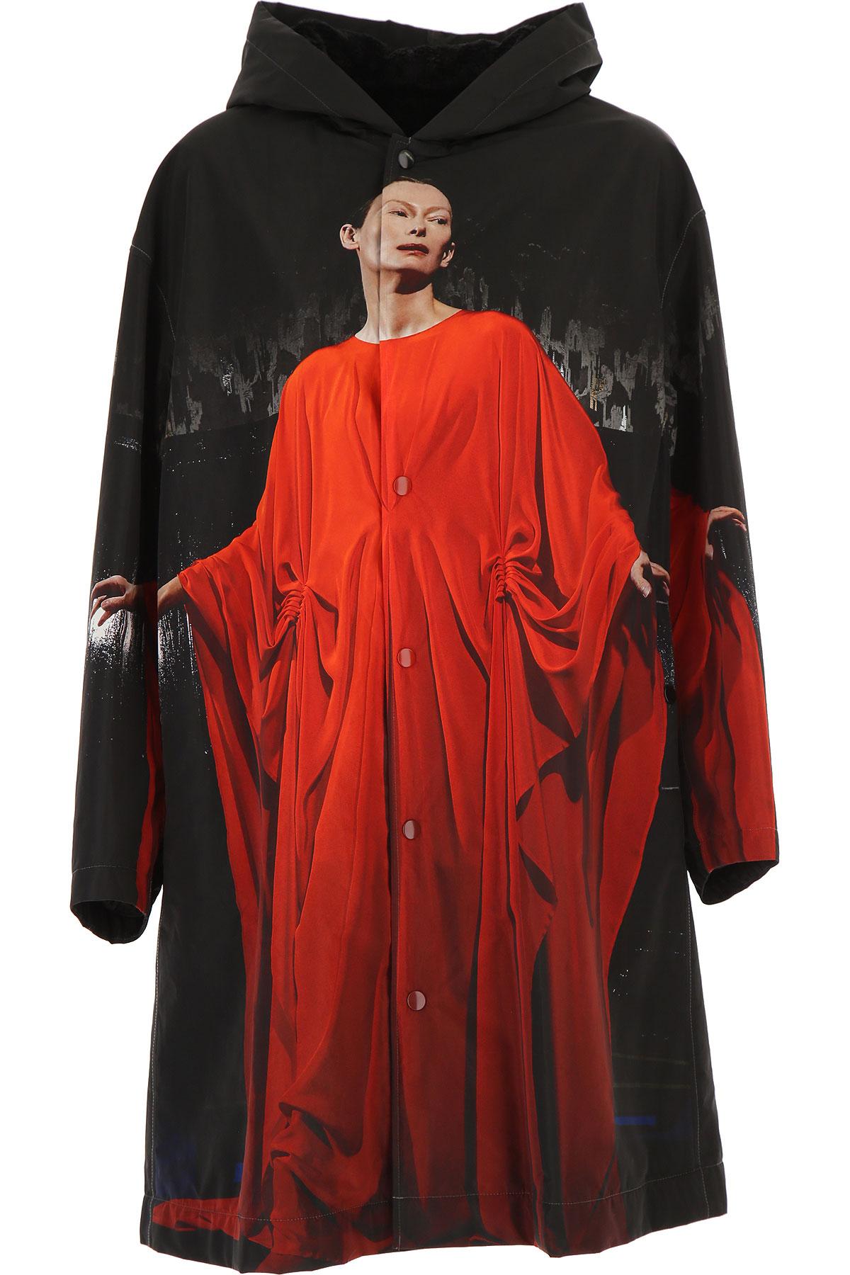 032c Down Jacket for Women, Puffer Ski Jacket On Sale, Black, polyester, 2019, 1 - S - IT 40 2 - M - IT 42