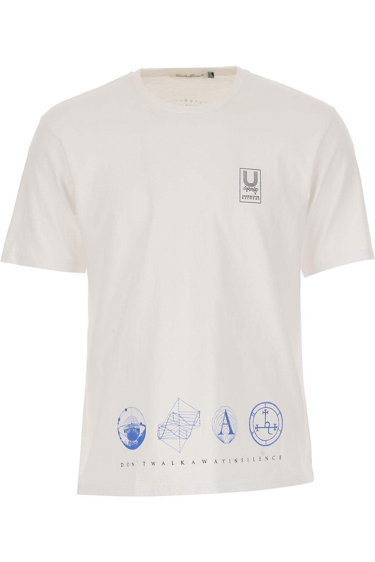 Image of Undercover T-Shirt for Men, White, Cotton, 2017, L XL