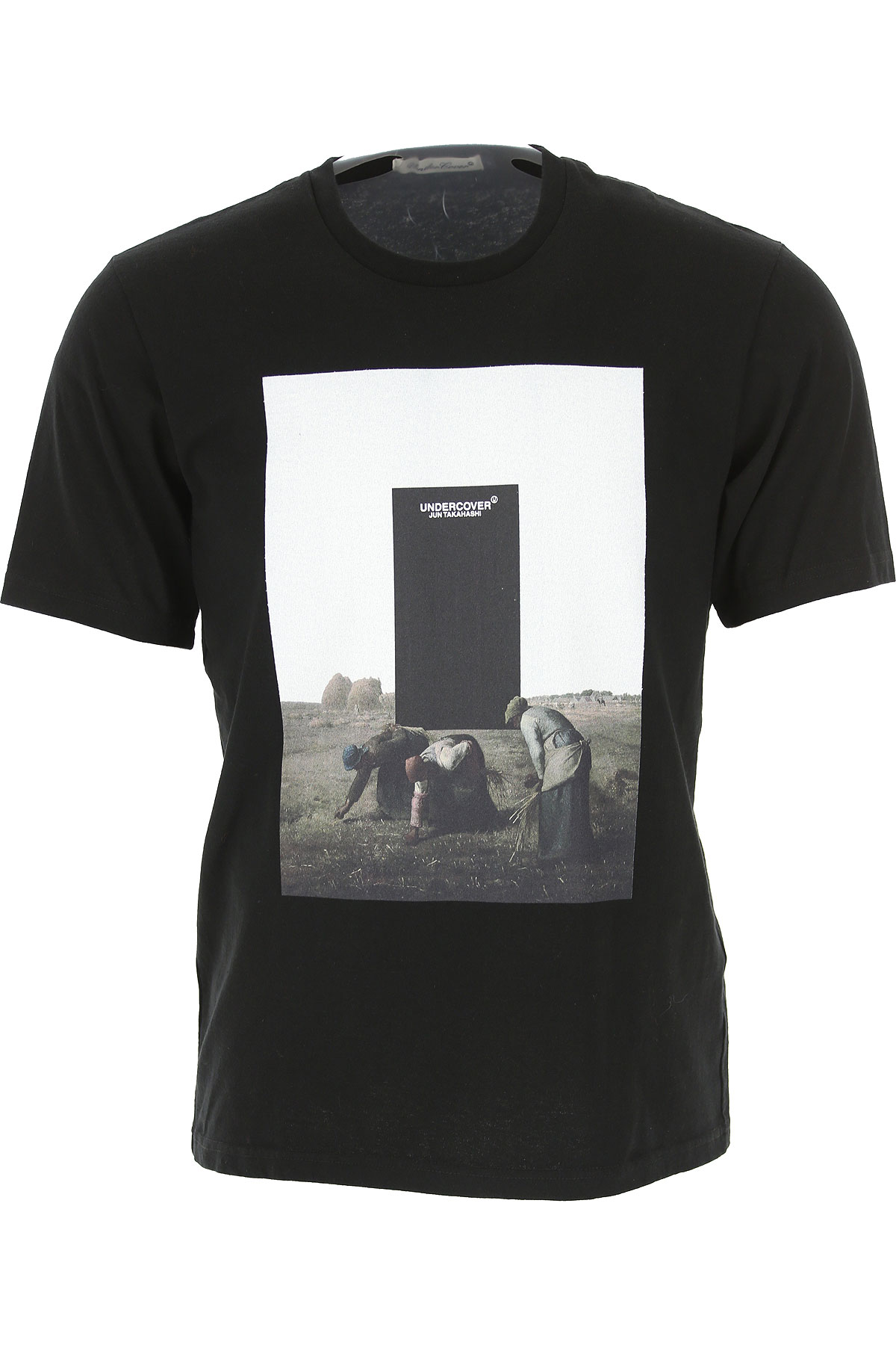 Image of Undercover T-Shirt for Men, Black, Cotton, 2017, L M S