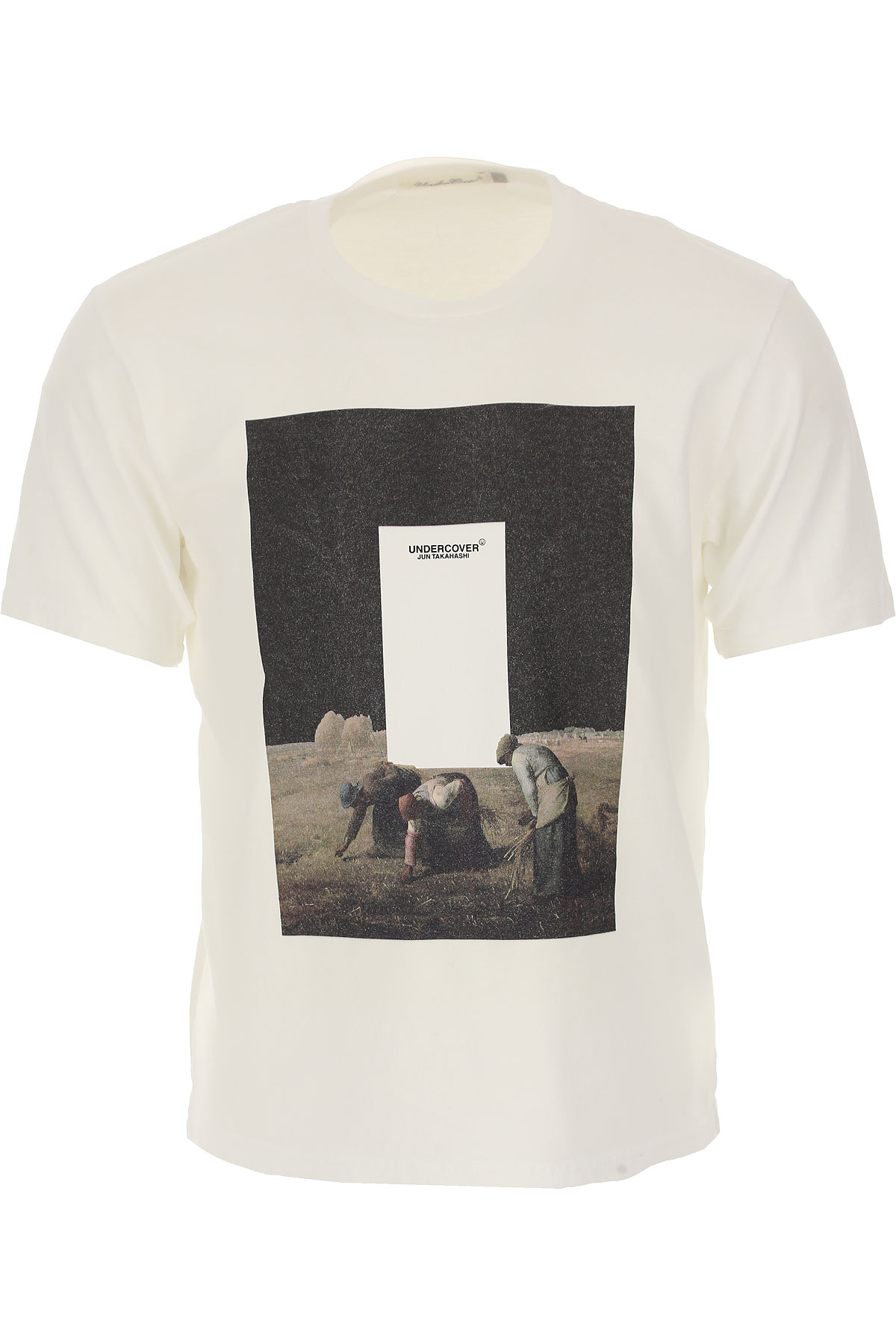 Image of Undercover T-Shirt for Men, White, Cotton, 2017, L M S