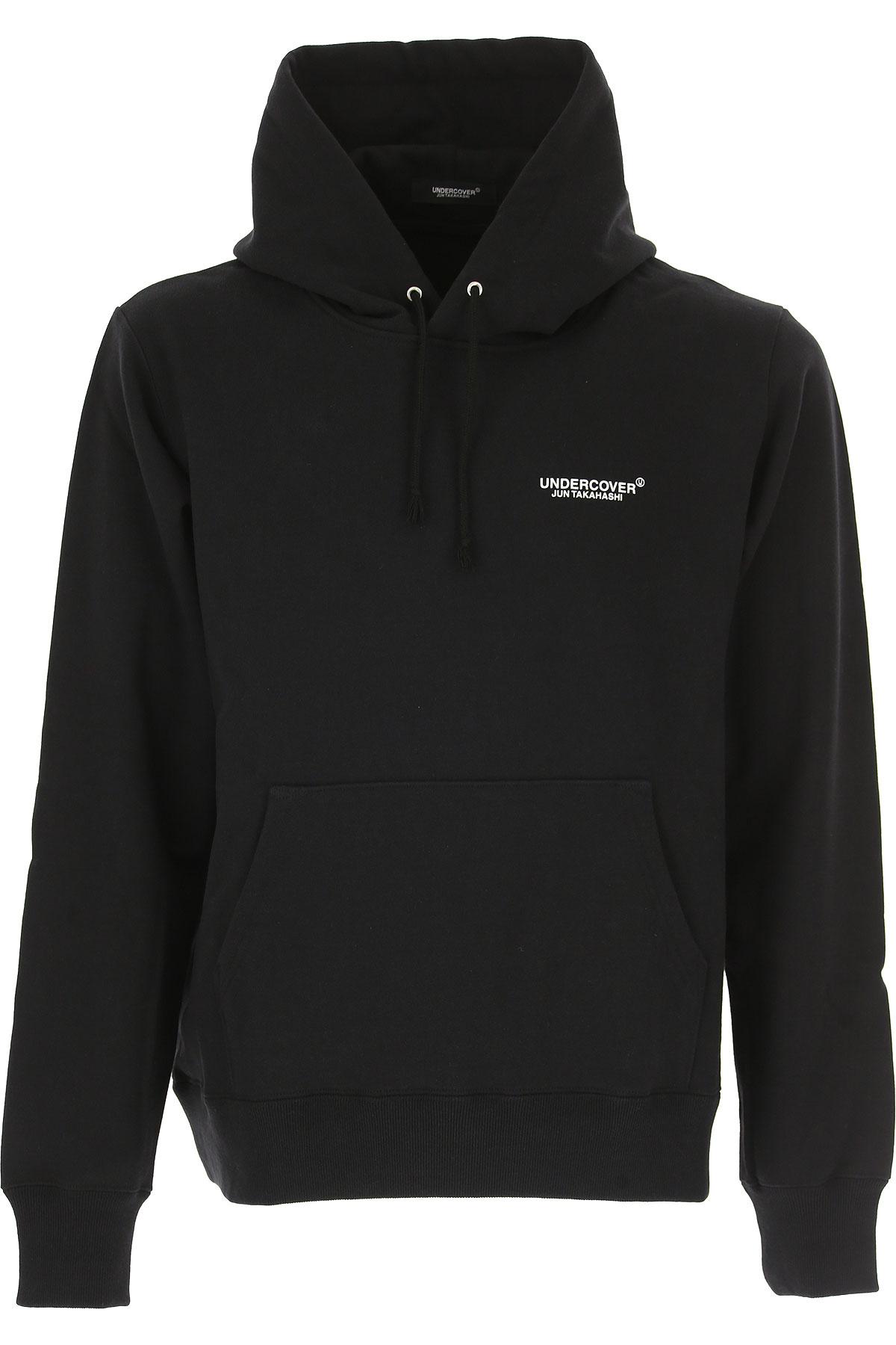 Image of Undercover Sweater for Men Jumper, Black, Cotton, 2017, L M XL