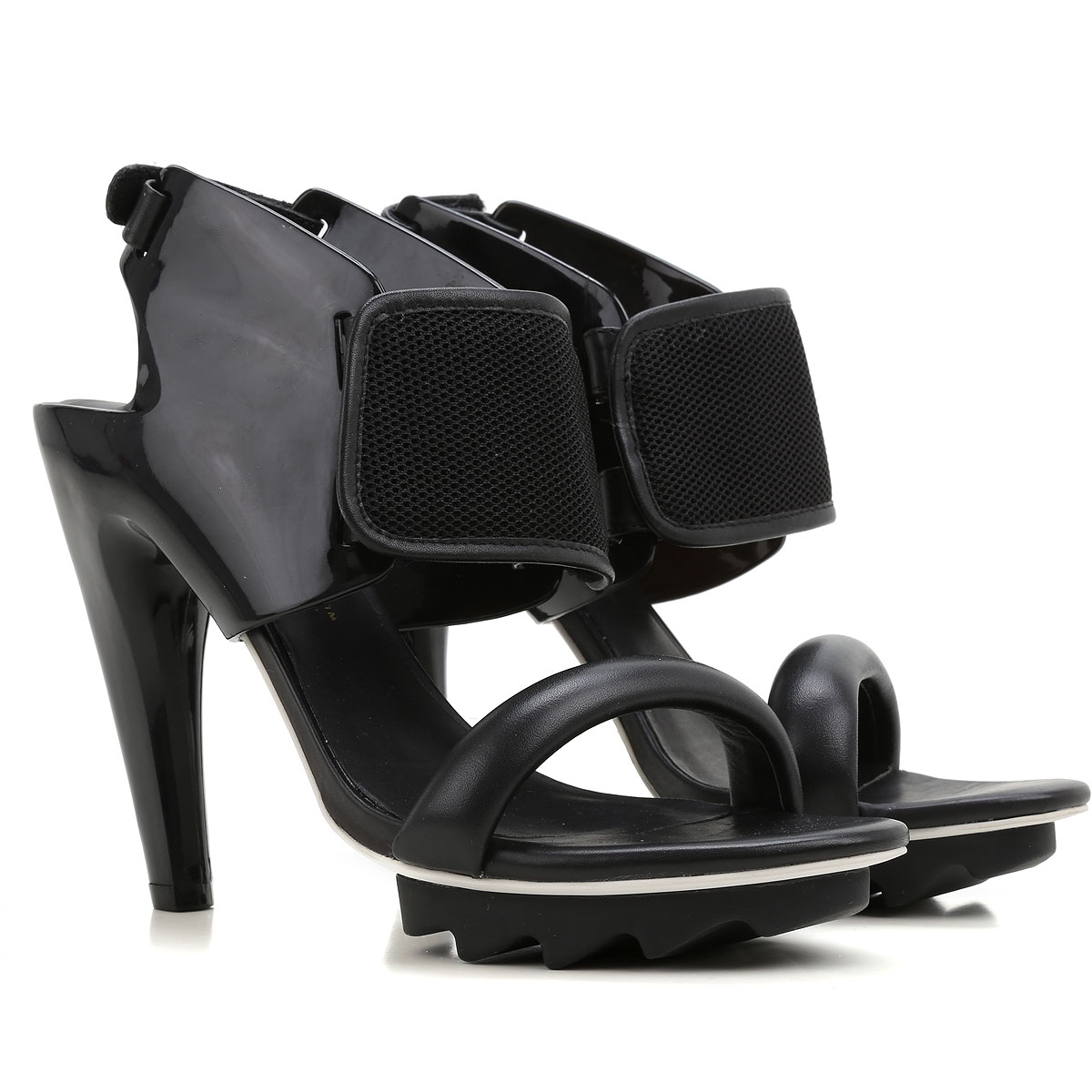 United Nude Sandals for Women On Sale, Black, Leather, 2017, 10 11 USA-361584