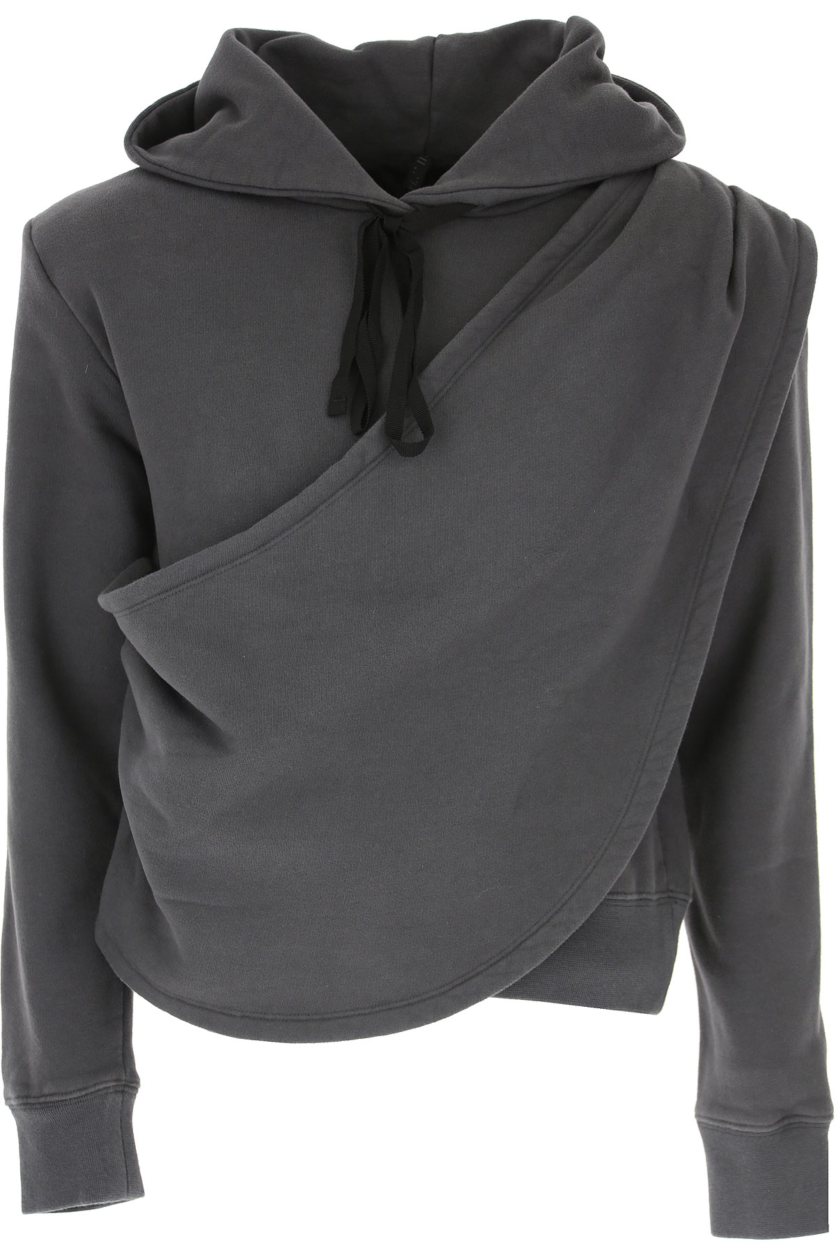 Image of Unravel Project Sweatshirt for Women, Medium Grey, Cotton, 2017, 4 8