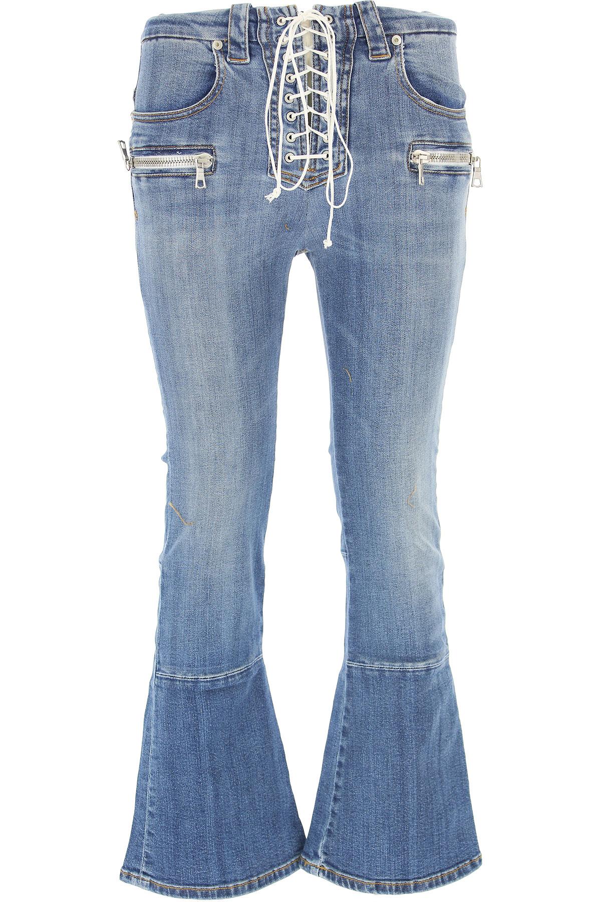 Image of Unravel Project Jeans, Blue, Cotton, 2017, 26 27