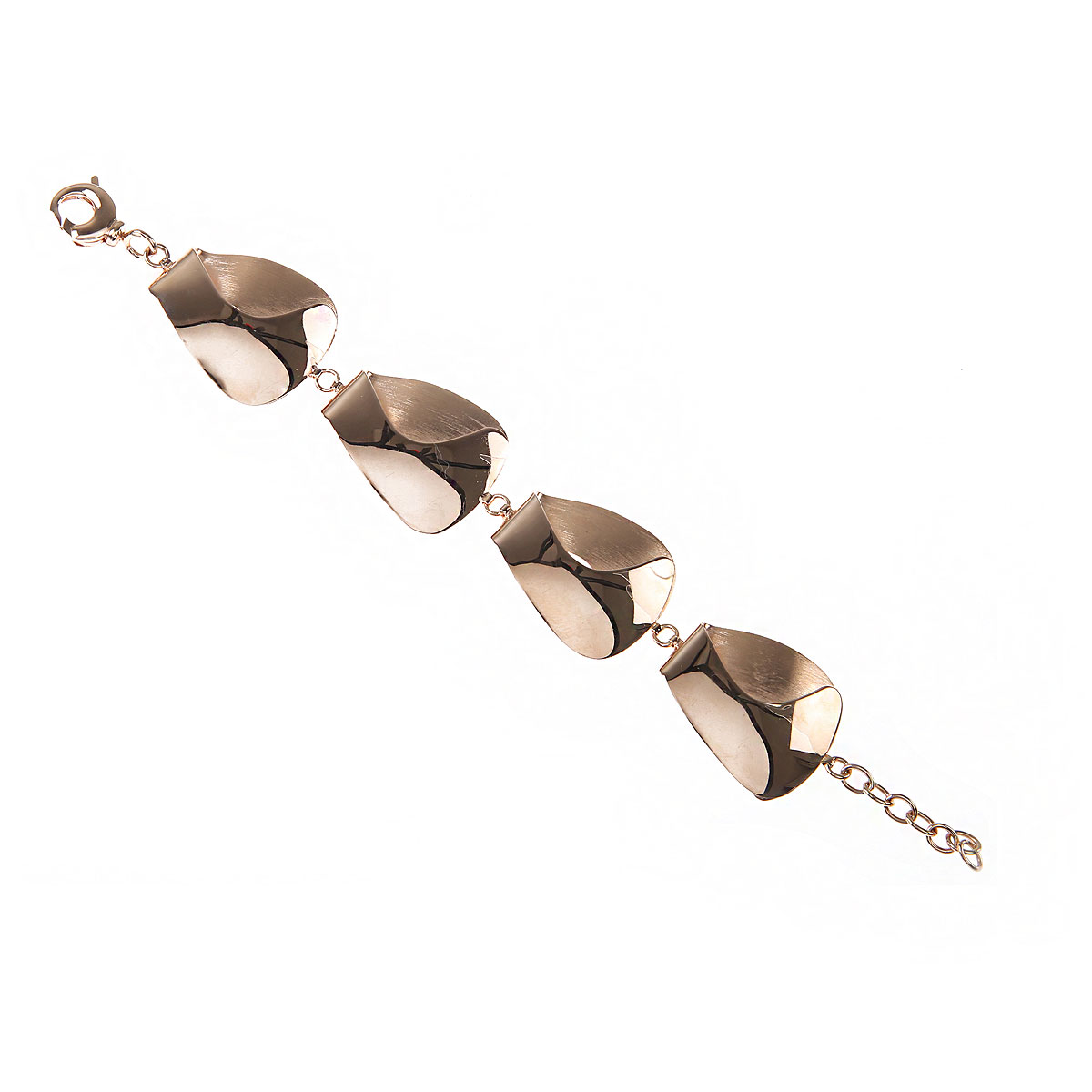 Italian Finest Jewelry Bracelet for Women On Sale, Silver, 2019
