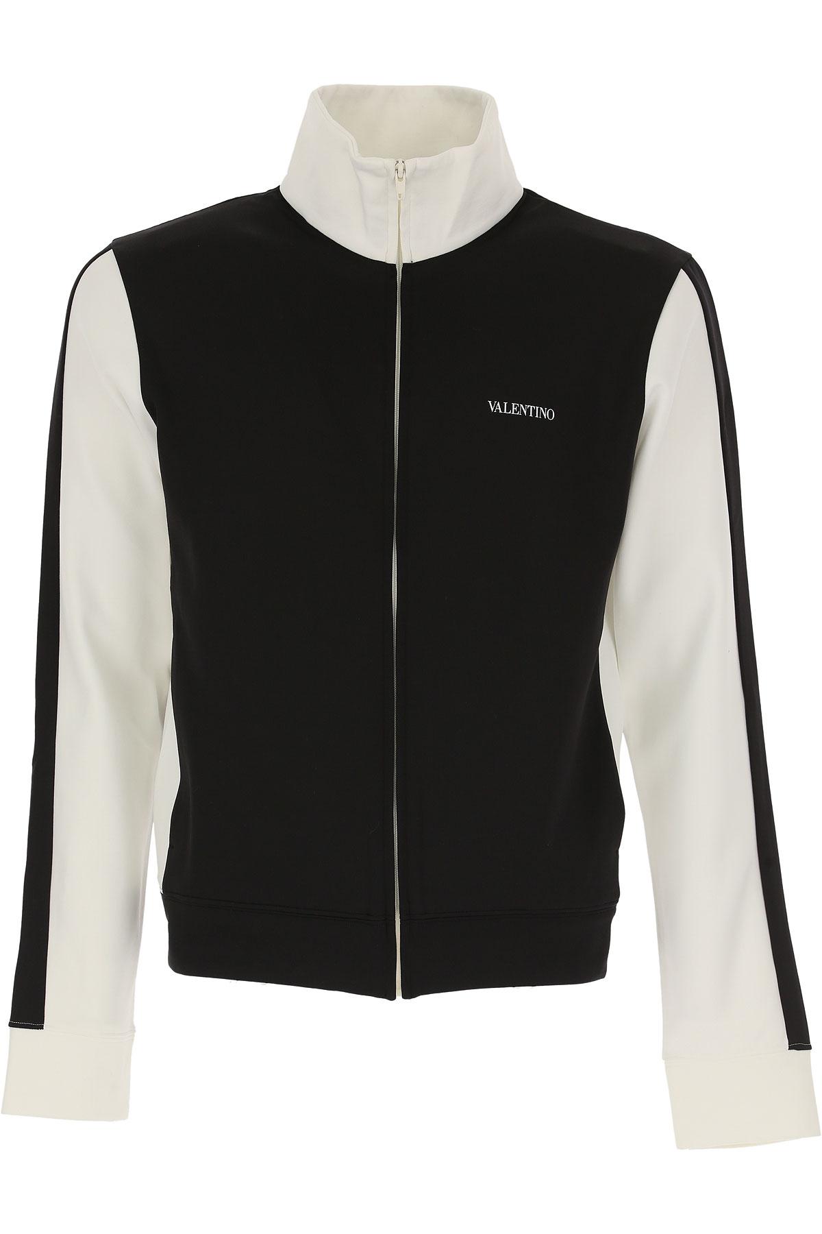 Valentino Sweatshirt for Men, Black, polyamide, 2017, L XL USA-472832