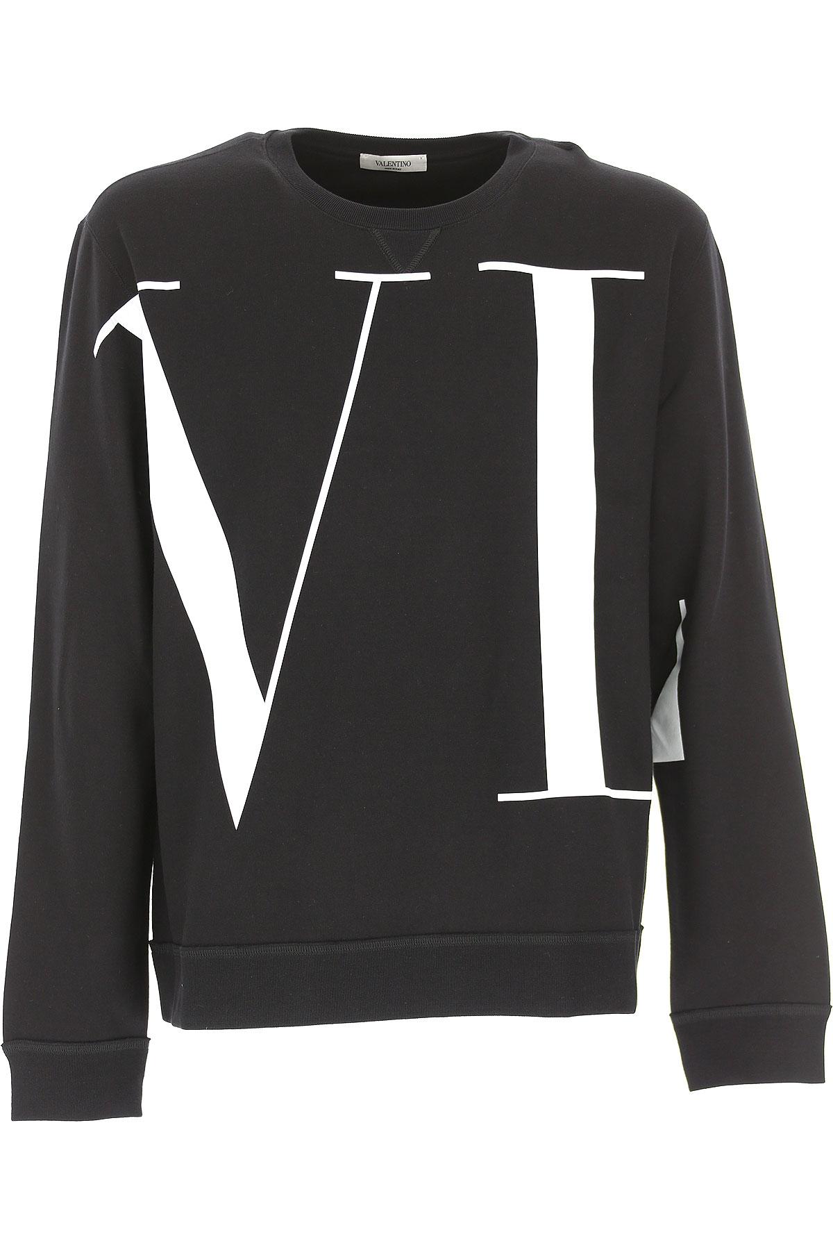 Valentino Sweatshirt for Men, Black, Cotton, 2017, L M S XL USA-473029