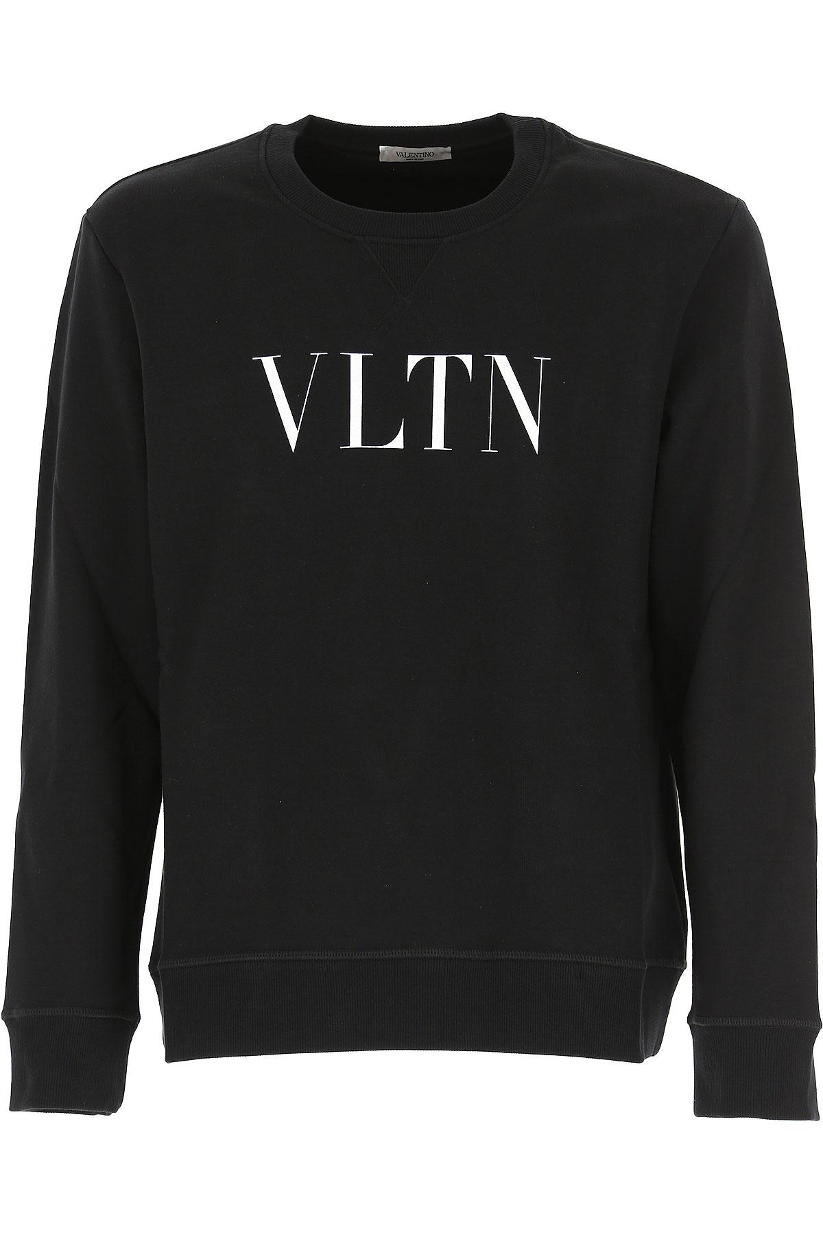 Valentino Sweatshirt for Men, Black, Cotton, 2017, L M S XL USA-468302