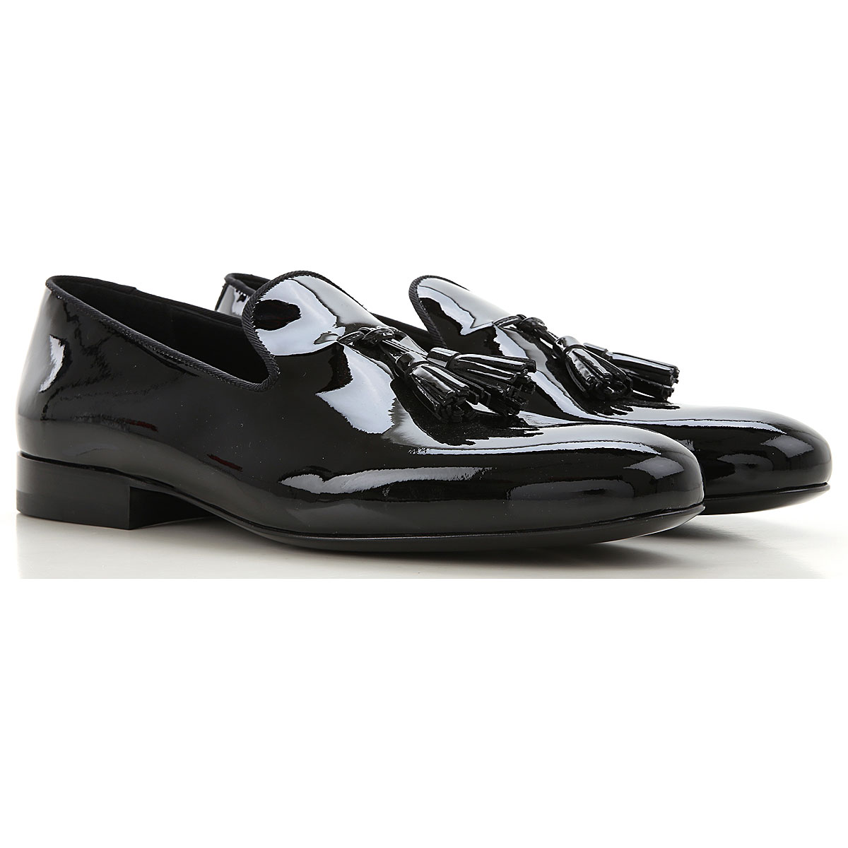 Valentino Garavani Loafers for Men On Sale in Outlet, Black, Leather, 2019, 7.5 8 8.5