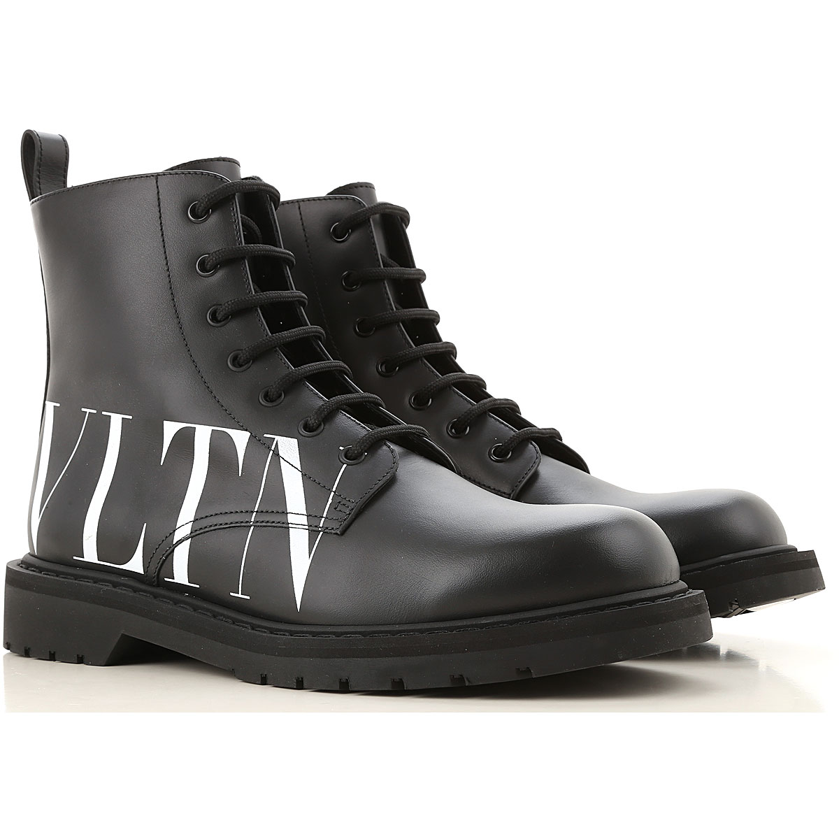 Valentino Garavani Boots for Men, Booties On Sale, Black, Leather, 2019, 10 10.5 11.5 7.5 8 9 9.5