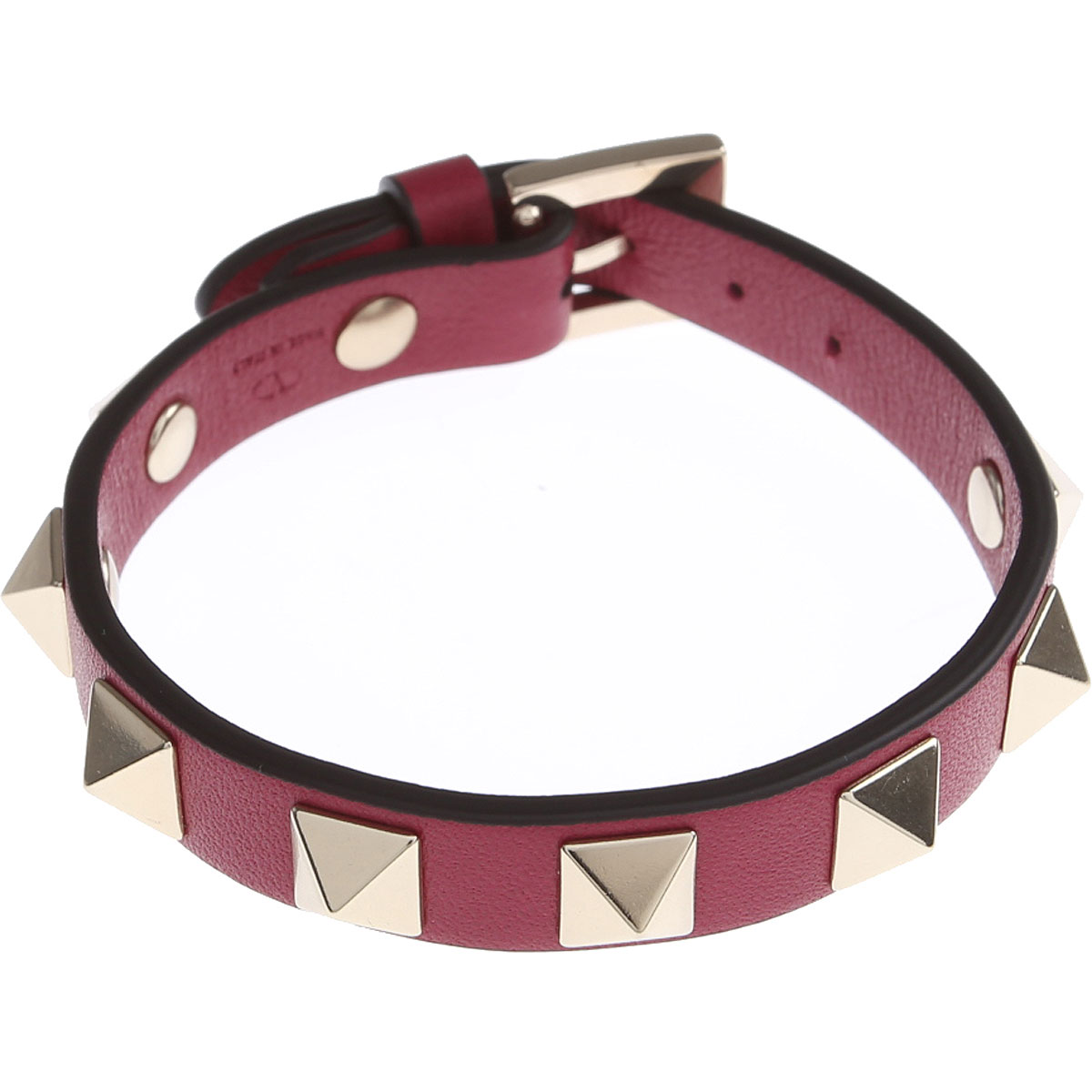 Valentino Bracelet for Women, Raspberry Pink, Leather, 2019